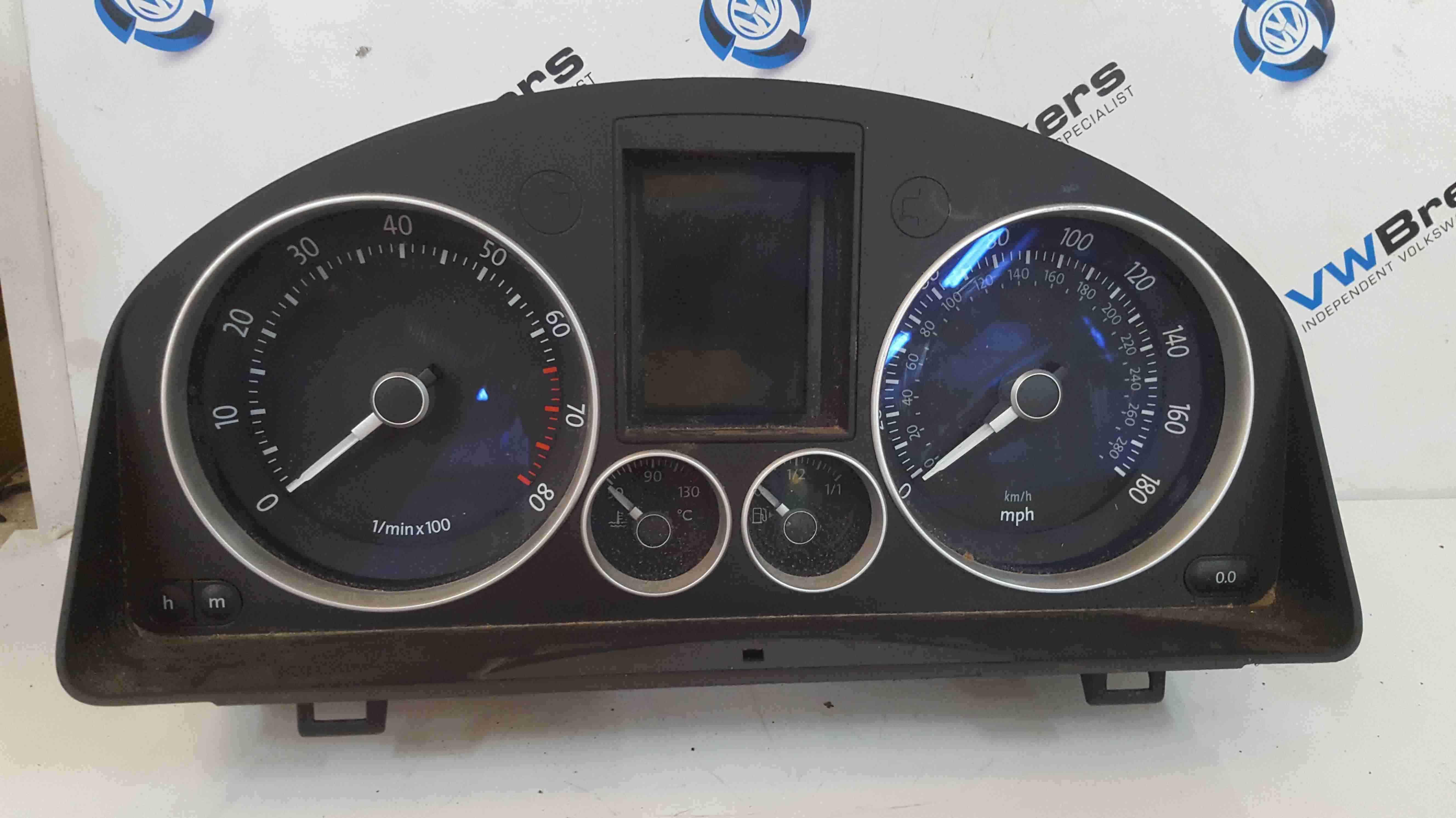 Volkswagen Golf R32 MK5 2003-2009 3.2 Instrument Panel Dials Clocks Speedo