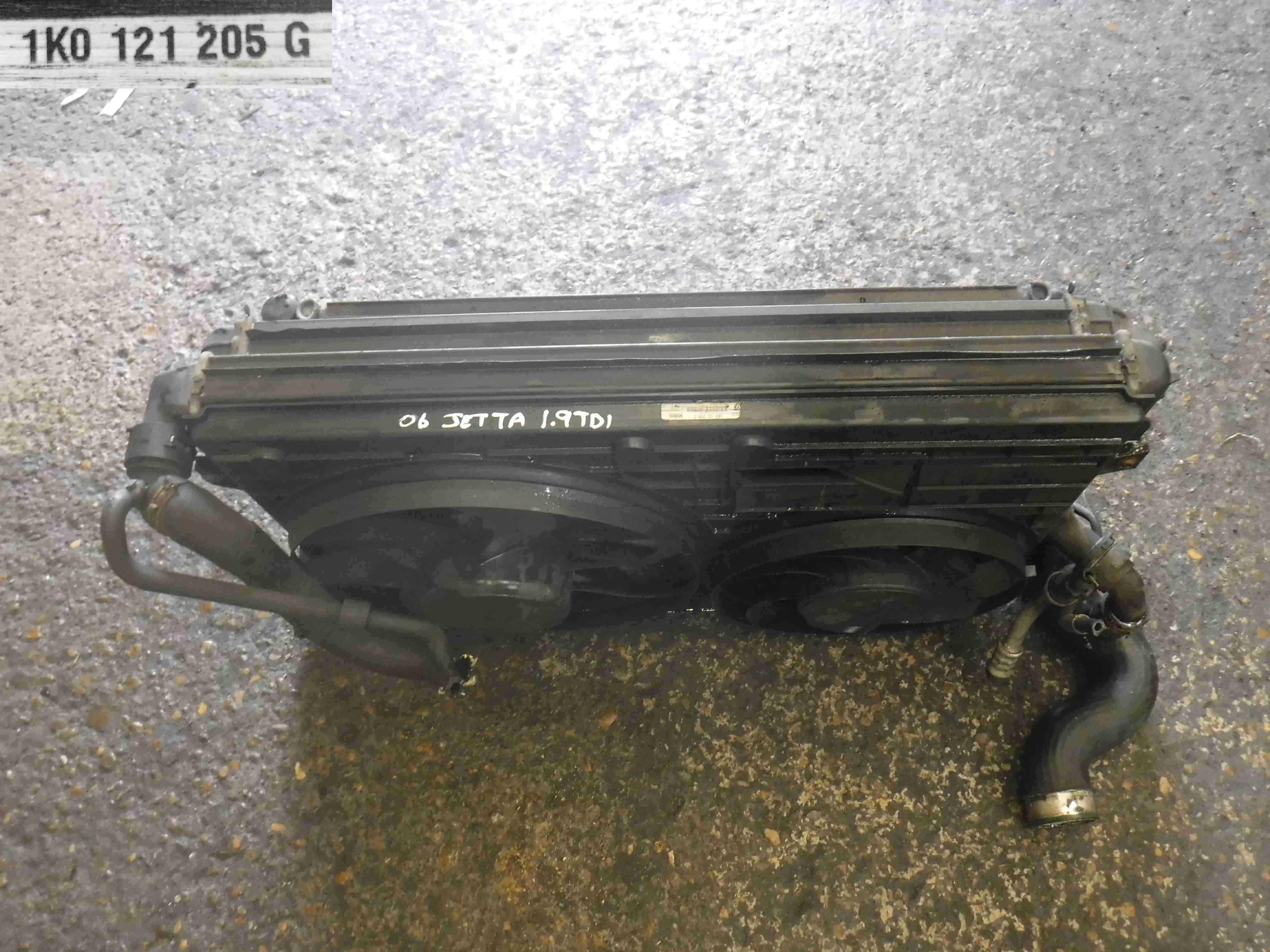 Volkswagen Jetta A5 2005-2011 2.0 TDI Diesel Radiator Pack Rad Pack 1k0121205G