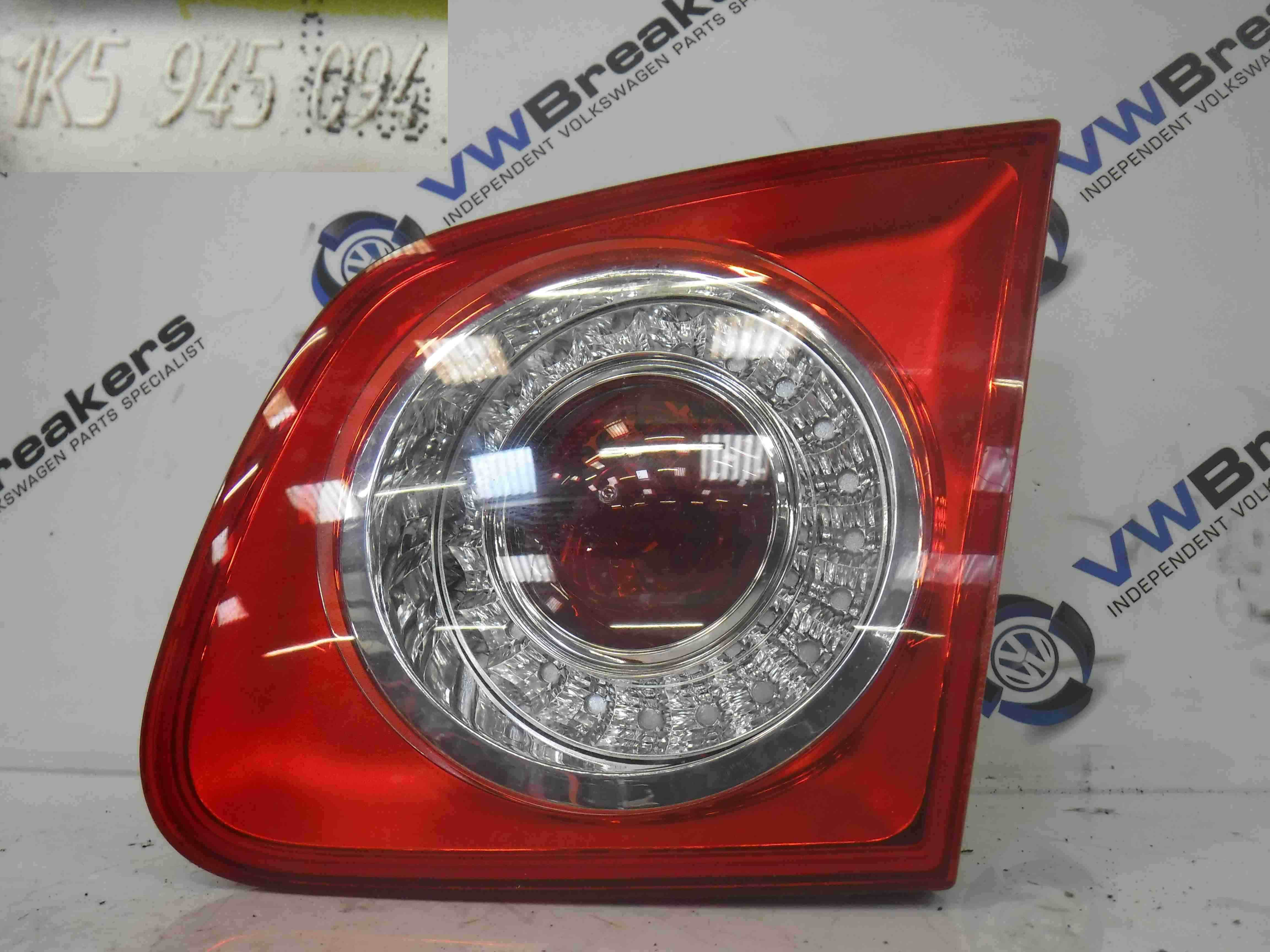Volkswagen Jetta A5 2005-2011 Drivers OSR Rear Boot Light Lamp Lenz 1K5945094