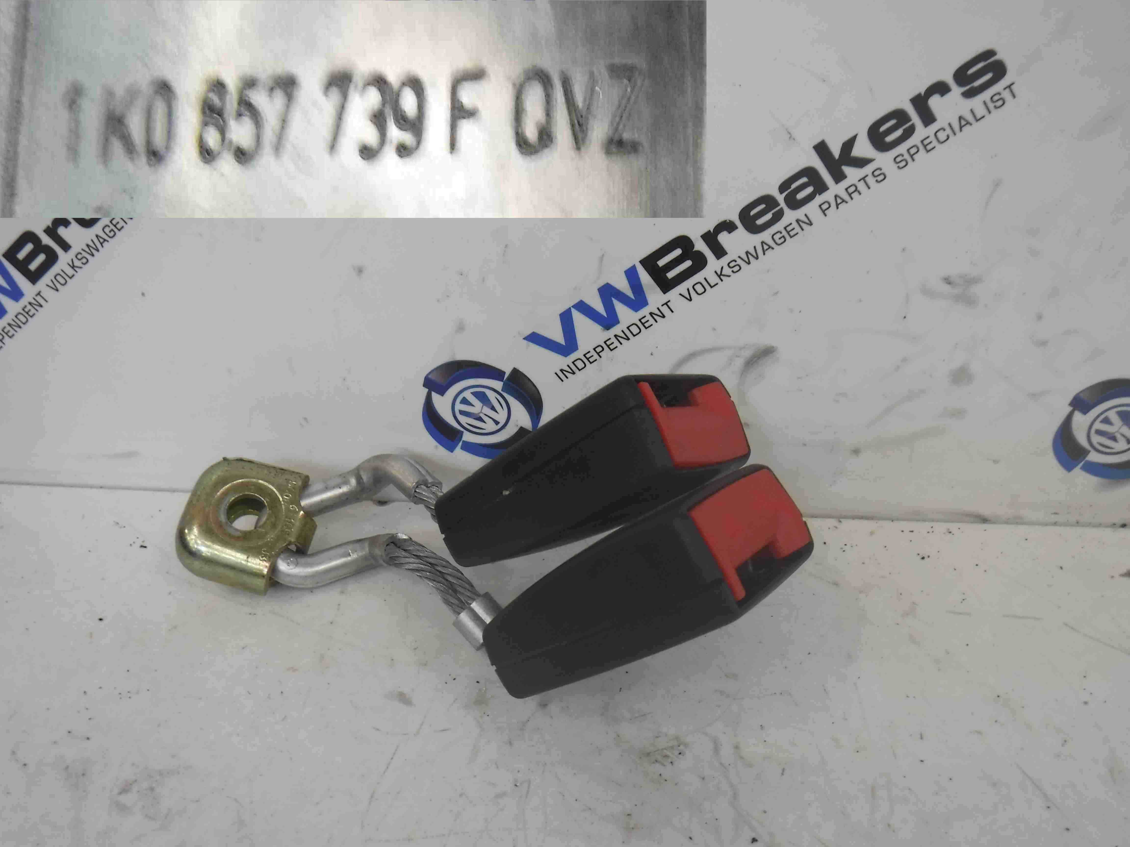 Volkswagen Jetta A5 2005-2011 Passenger NSR Rear Seat Belt Buckle Anchor