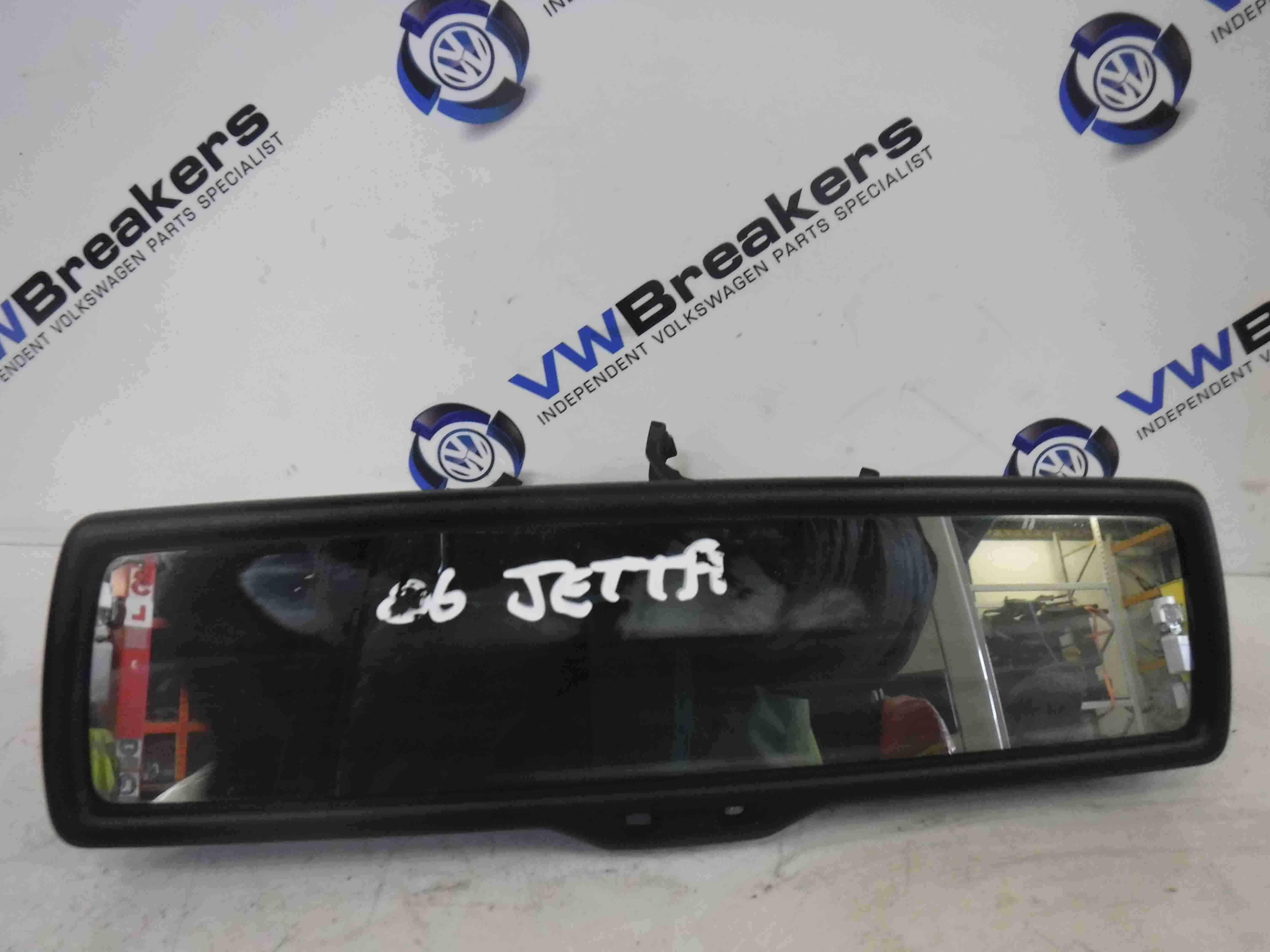 Volkswagen Jetta A5 2005-2011 Rear View Mirror Black
