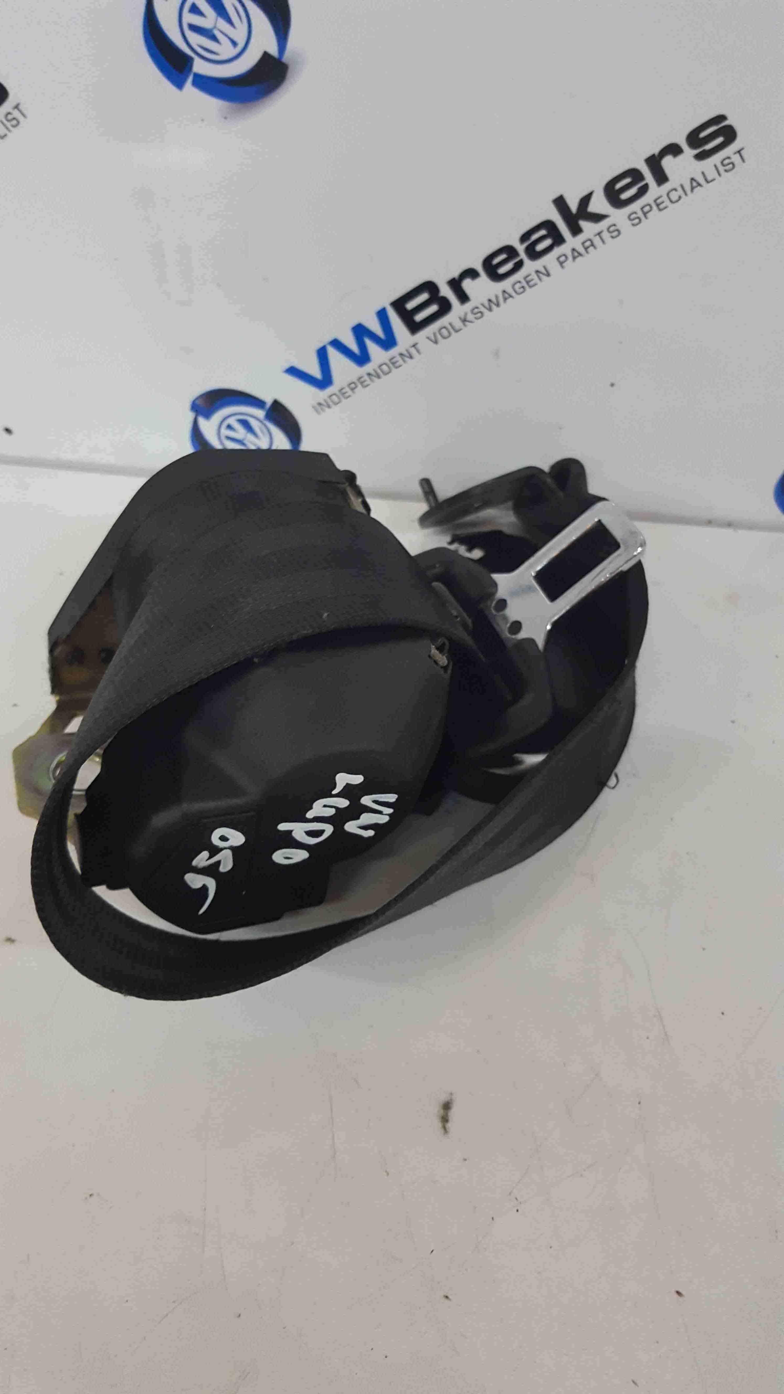 Volkswagen Lupo 1998-2005 Drivers OSR Rear Seat Belt Dark