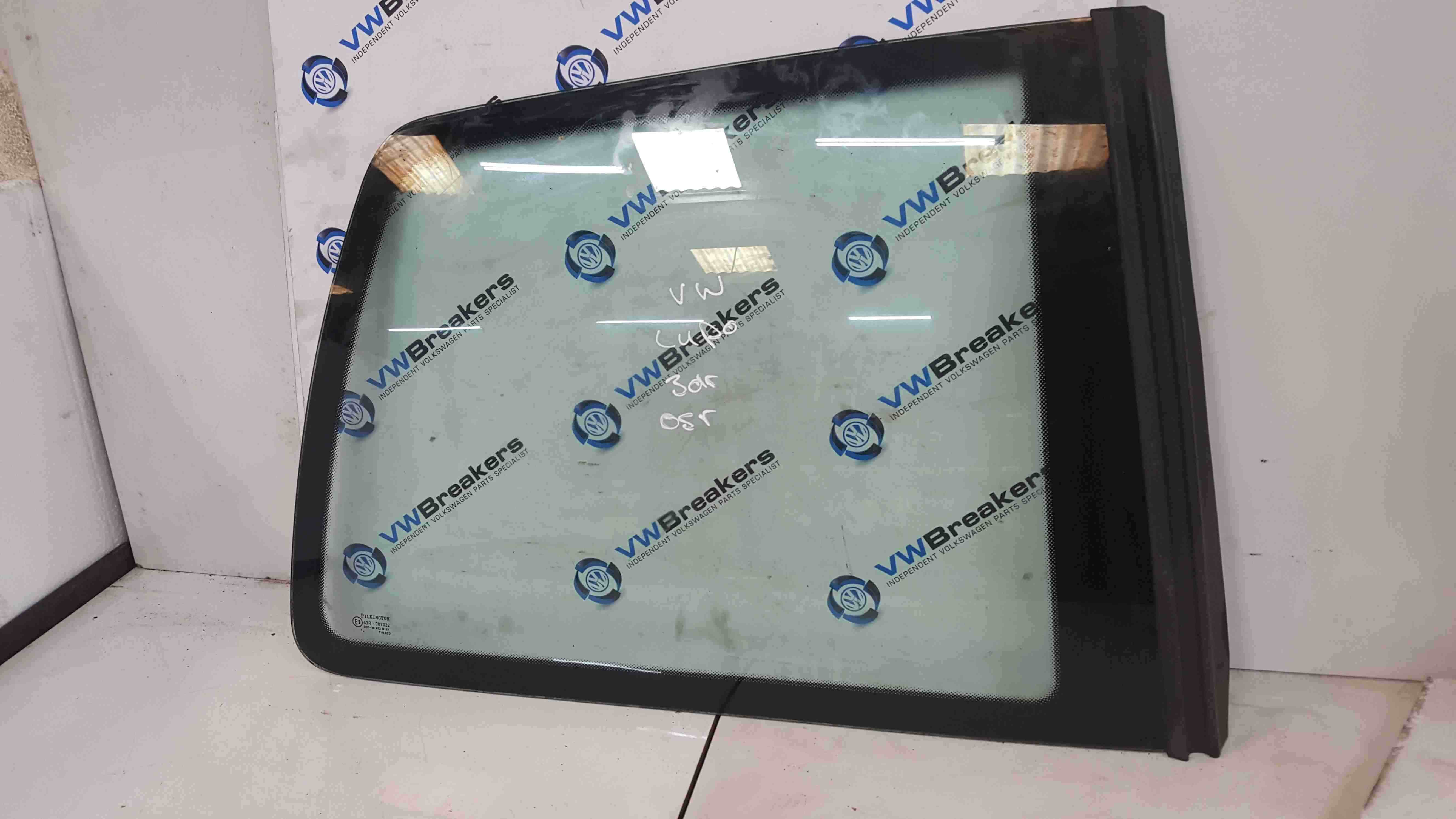Volkswagen Lupo 1998-2005 Drivers OSR Rear Window Glass 3dr
