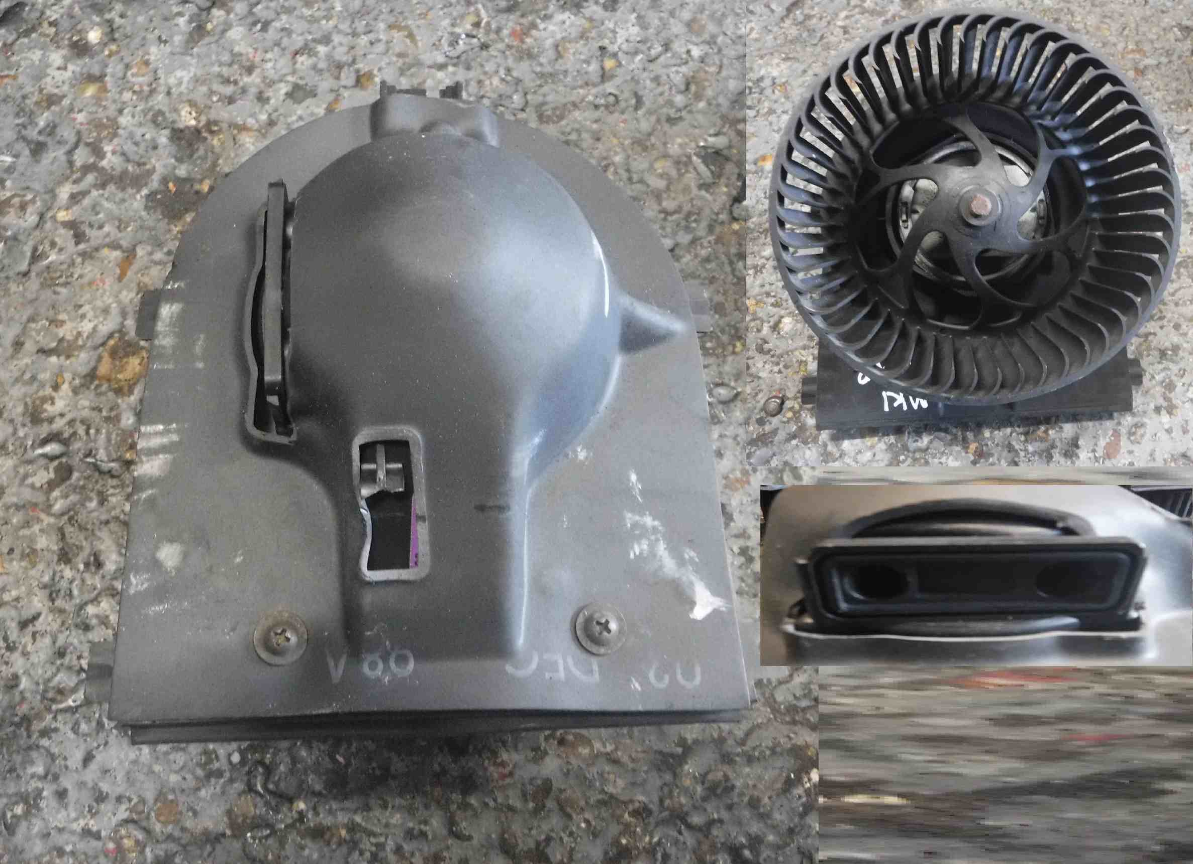 Volkswagen Lupo 1998 2005 Heater Blower