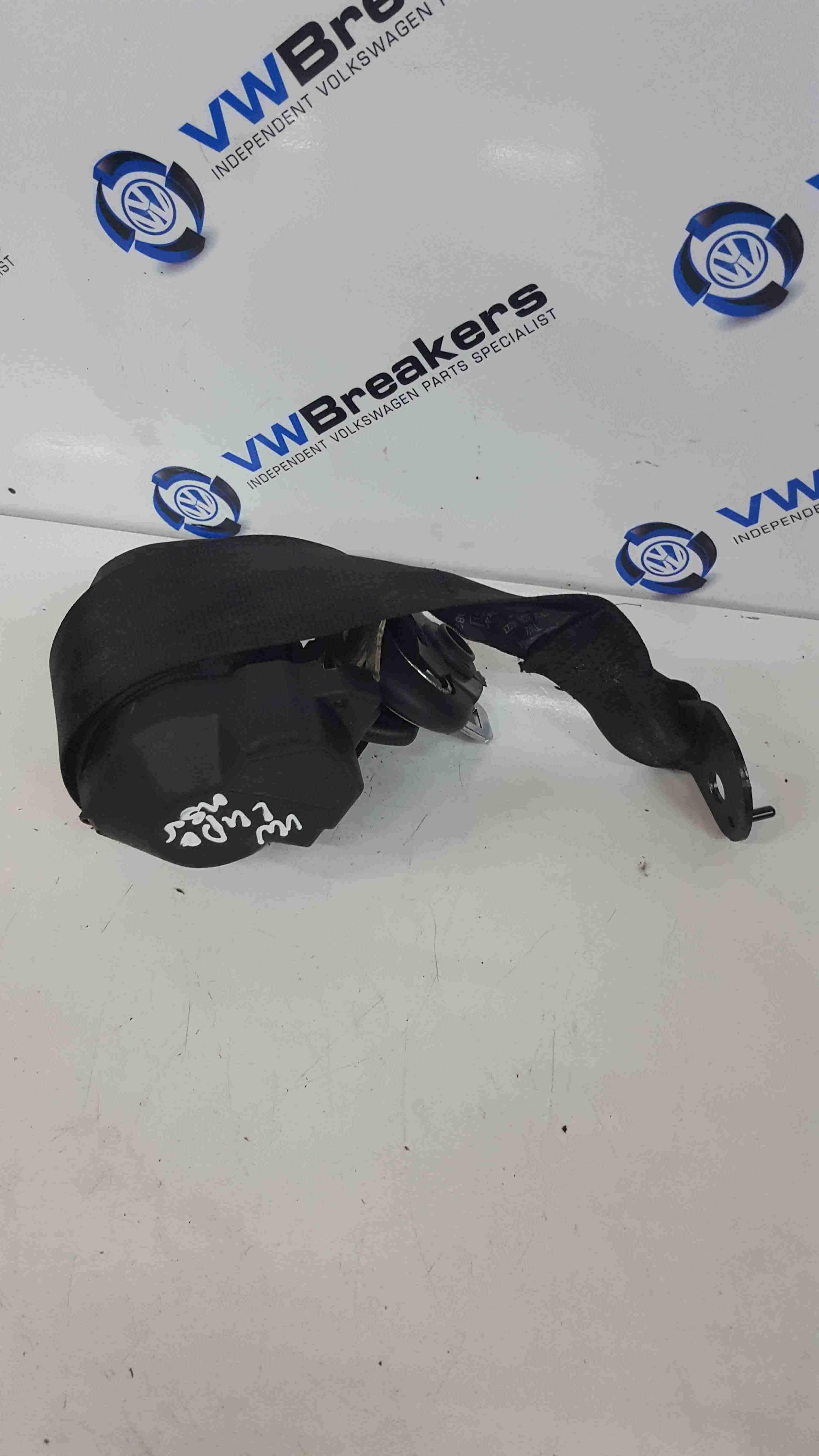 Volkswagen Lupo 1998-2005 Passenger NSR Rear Seat Belt Dark