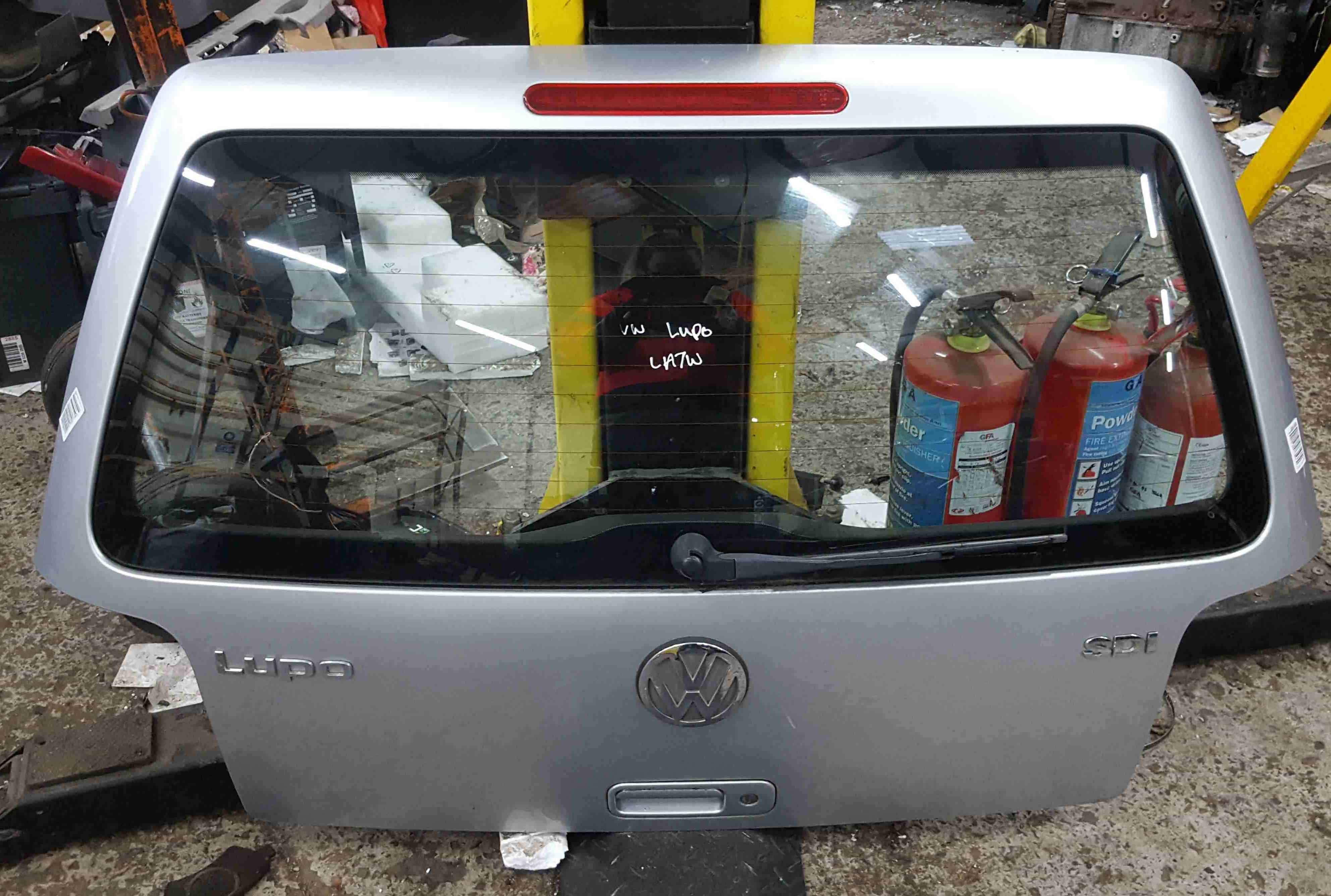 Volkswagen Lupo 1998-2005 Rear Tailgate Boot Silver LA7W