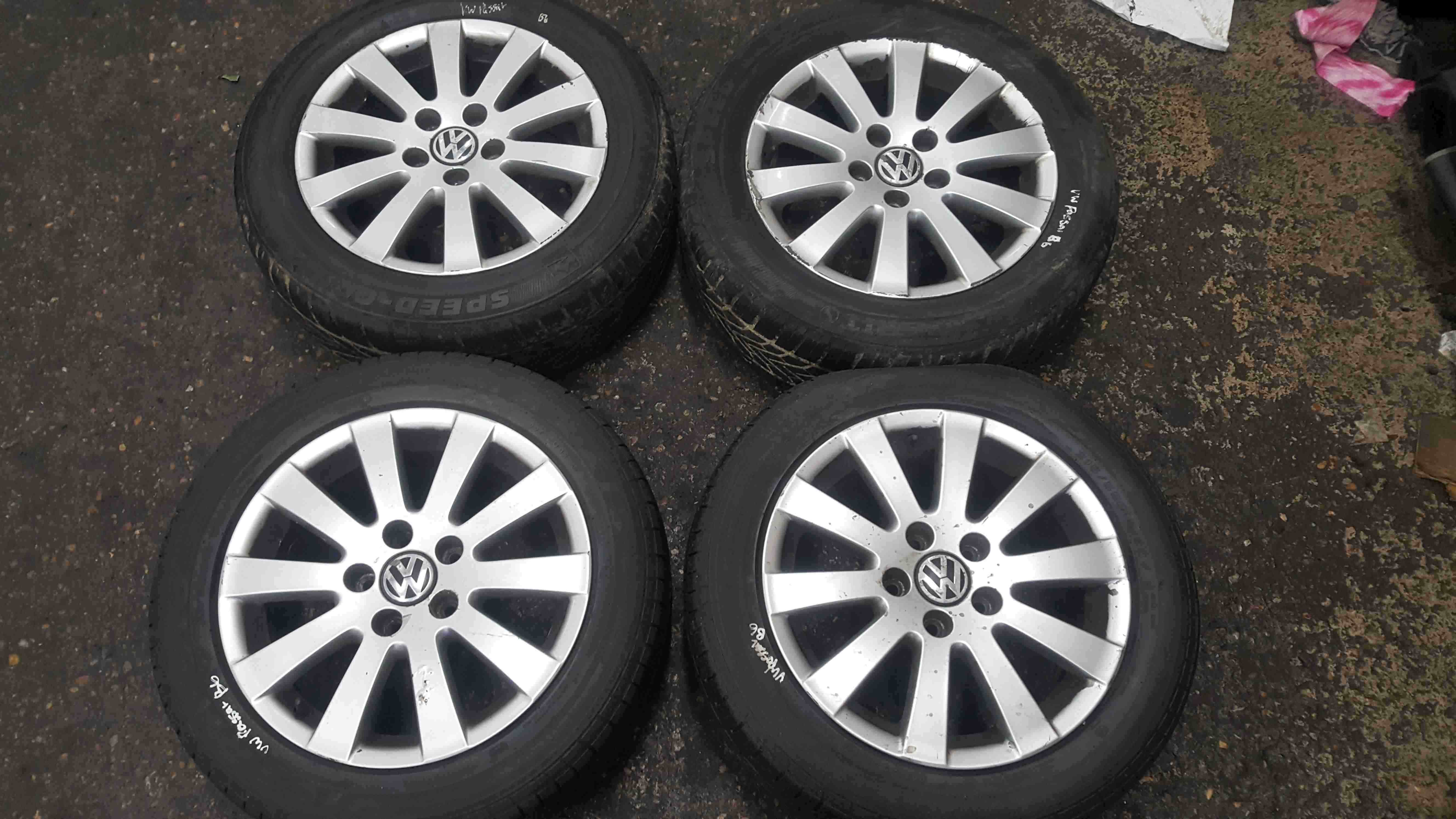 Volkswagen Passat B6 2005-2010 Alloy Wheels Set 16inch 3C0601025AD