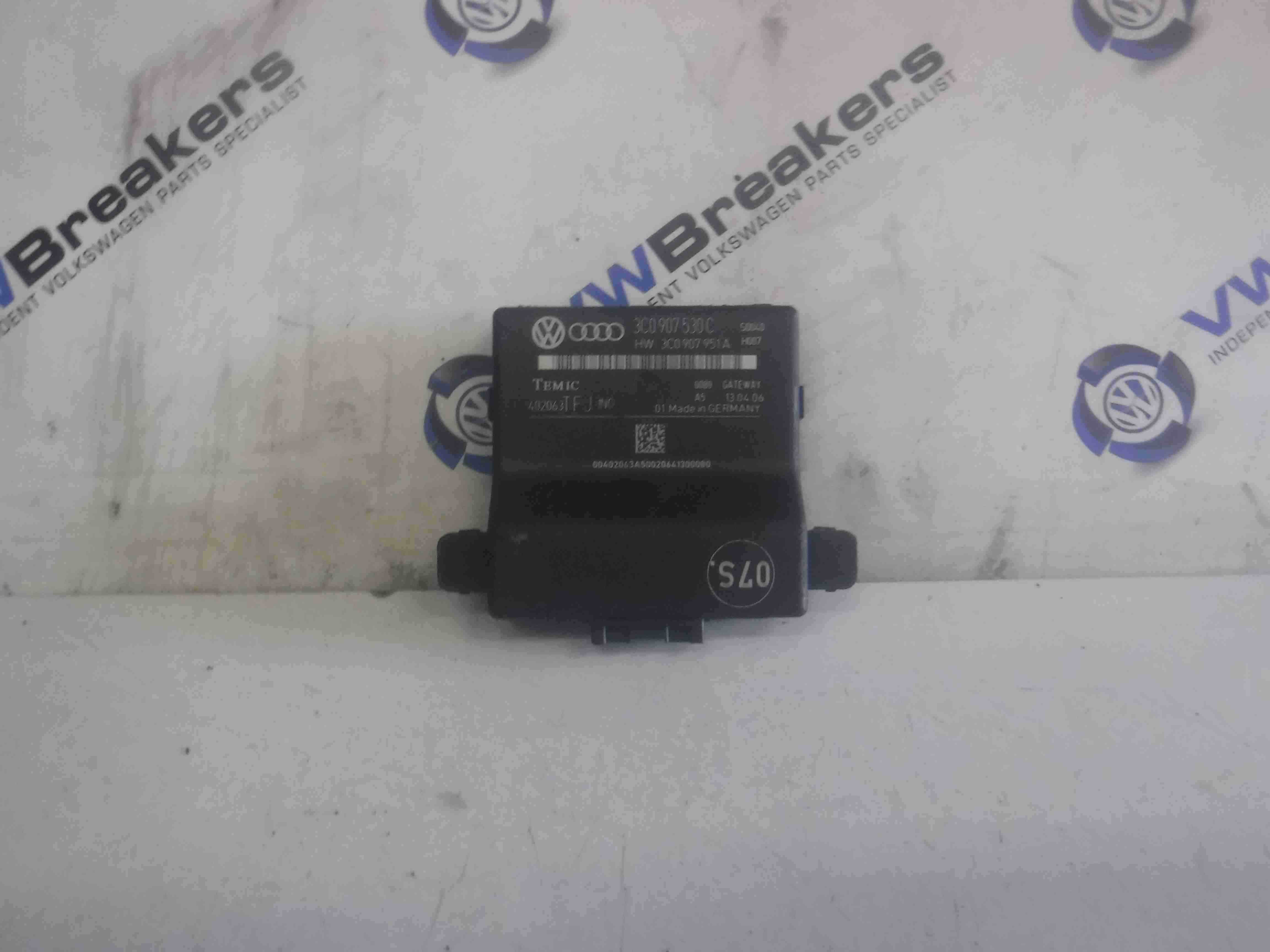 Volkswagen Passat B6 2005-2010 Gateway Control Module 3c0907530E