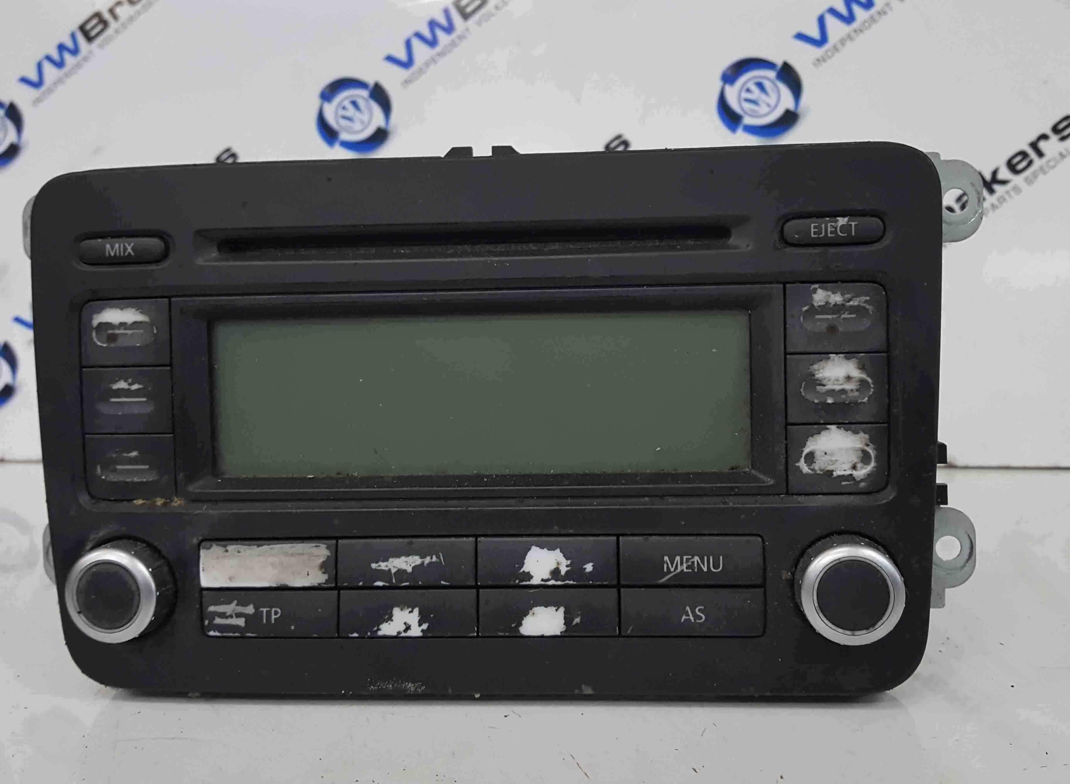 Volkswagen Passat B6 2005-2010 Radio Cd Player Head Unit 1K0035186P