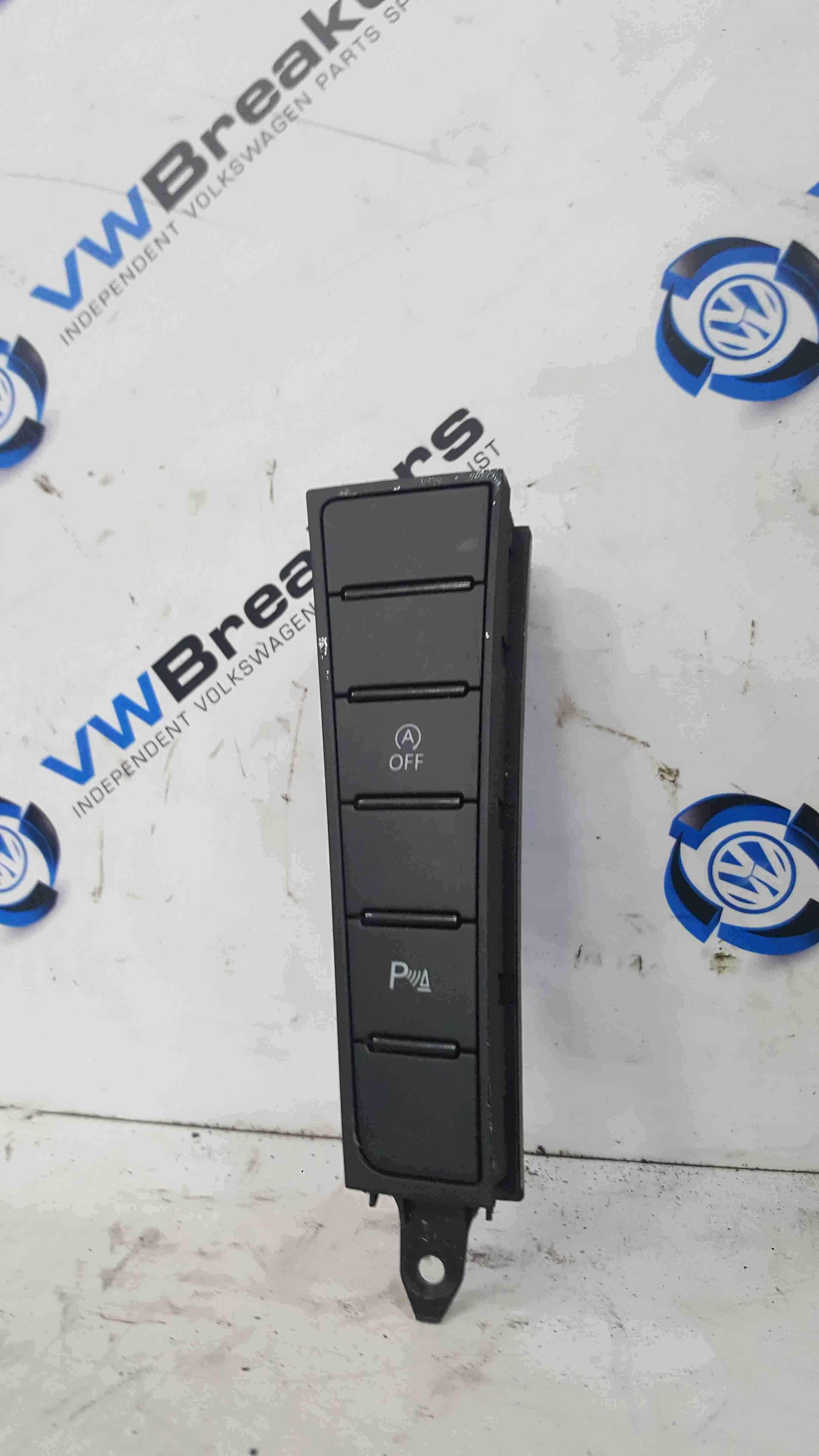 Volkswagen Passat B7 2010-2015 A Off Parking Sensor Alarm Switches Panel