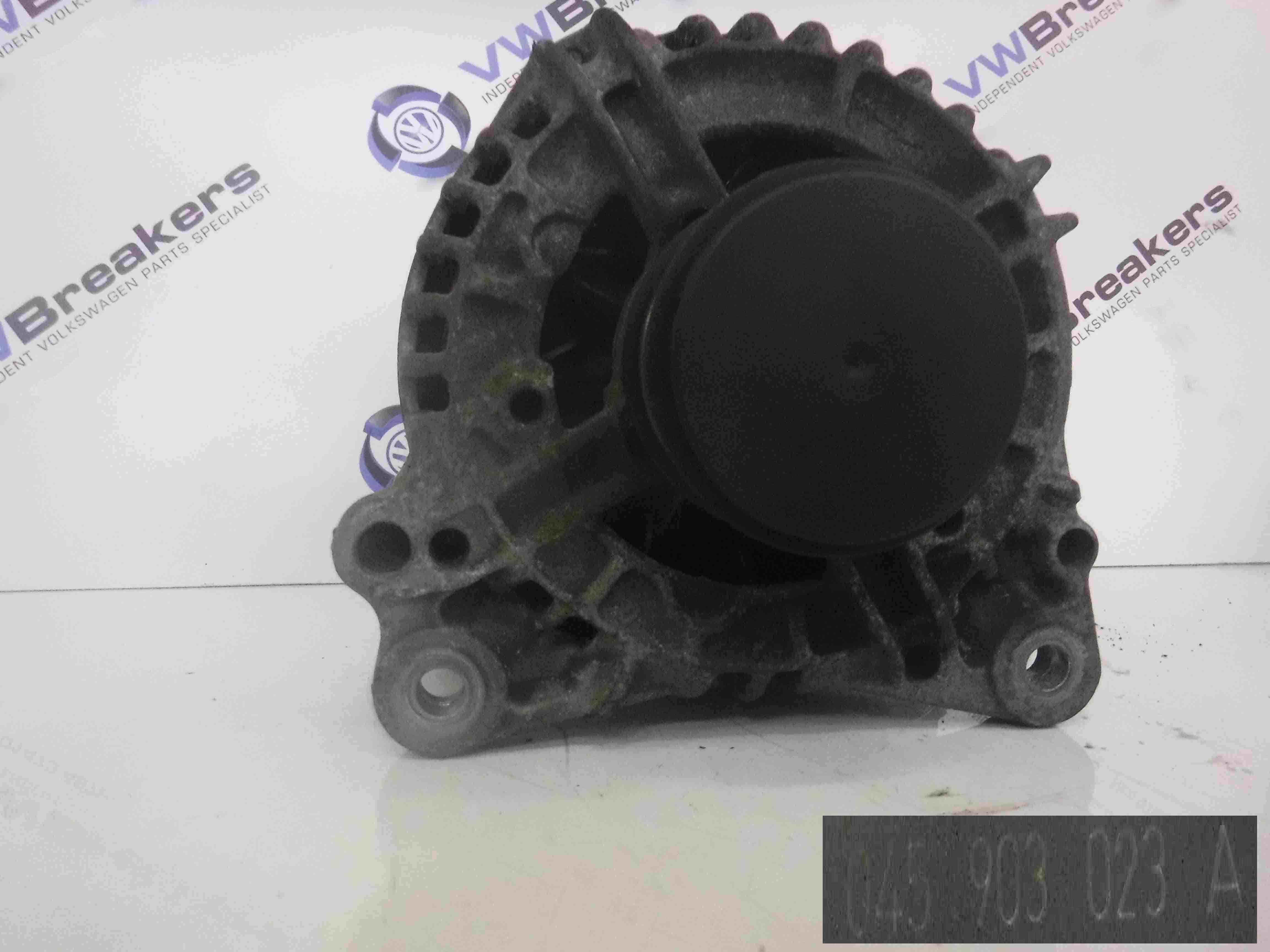 Volkswagen Polo 2003-2006 9N 1.4 TDI Alternator 045903023A 6Q0199185D