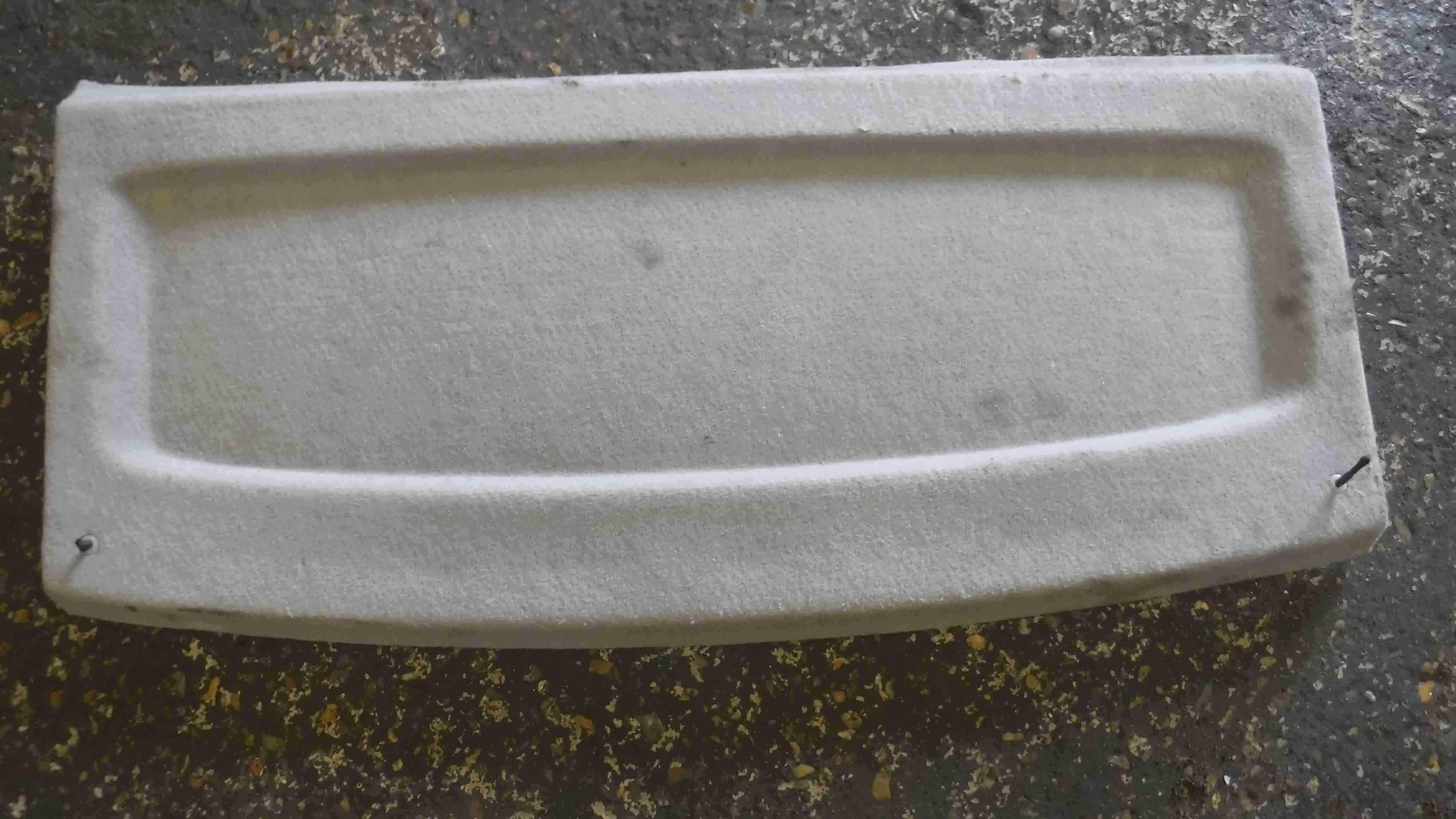 Volkswagen Polo 9N 2003-2006 Rear Parcel Shelf