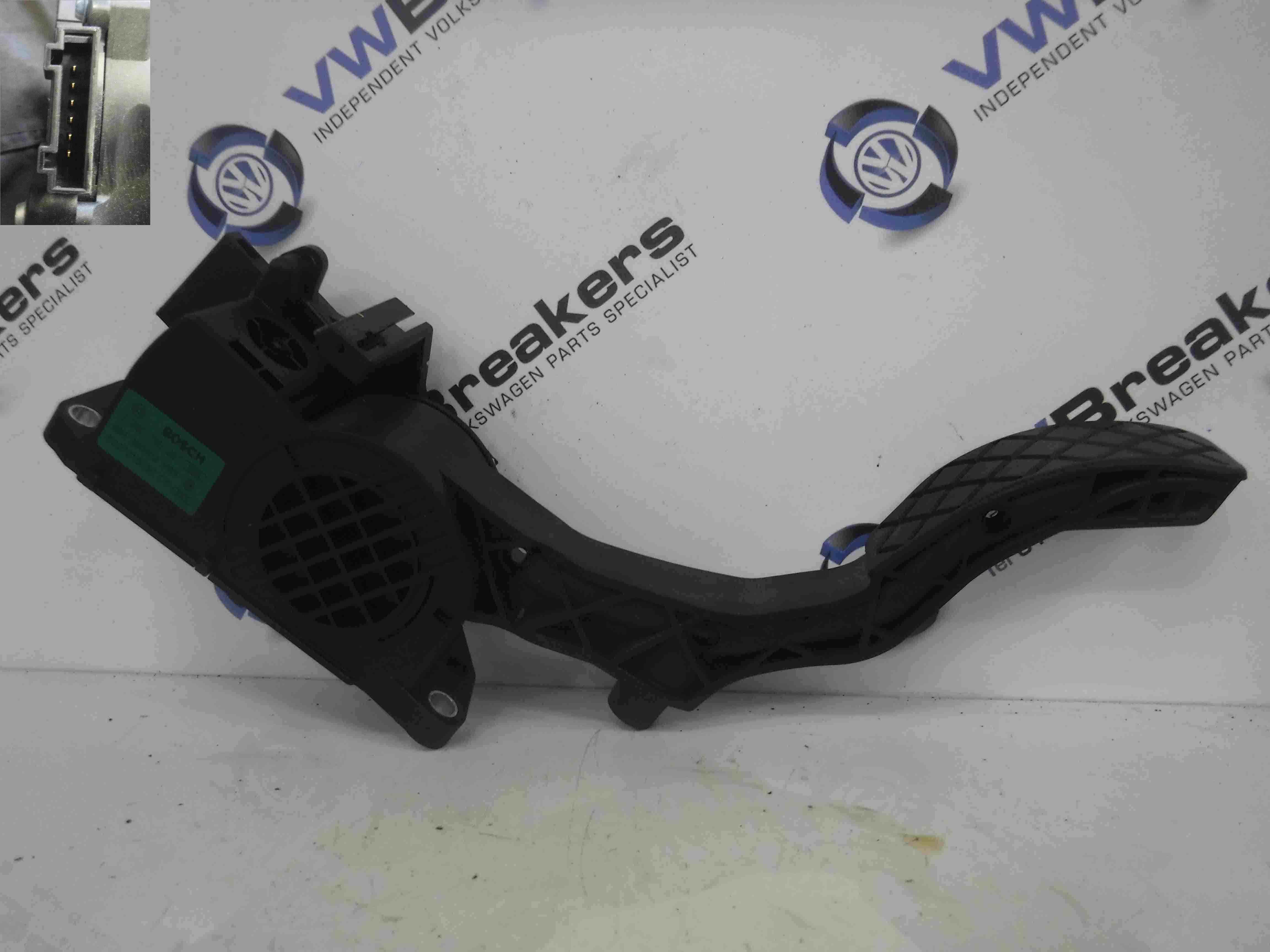 Volkswagen Polo 2006-2008 9N3 Accelerator Throttle Pedal 6Q2721503E