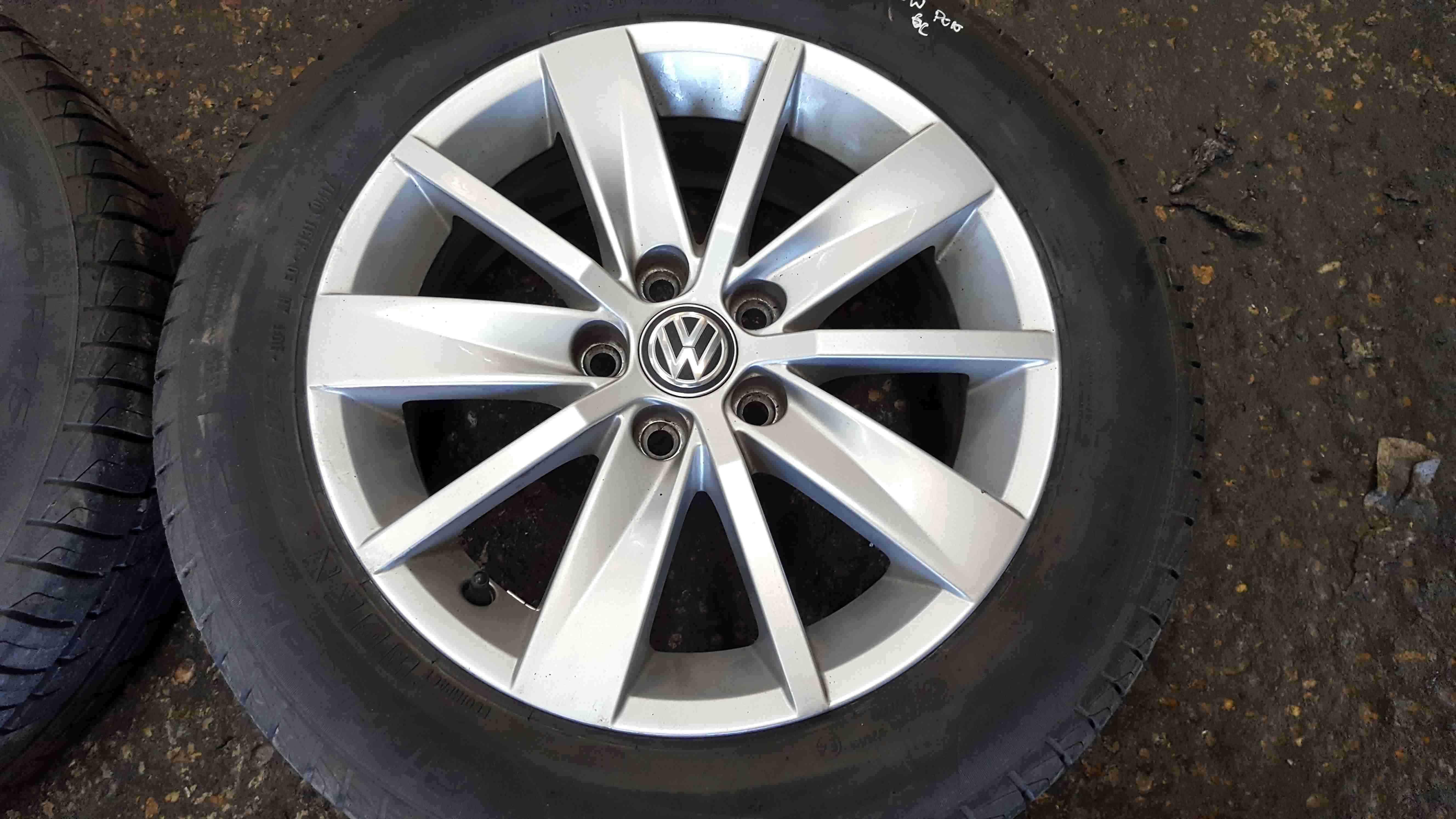 Volkswagen Polo 6C 2014-2017 Borbet Alloy Wheels Set X4 15inch
