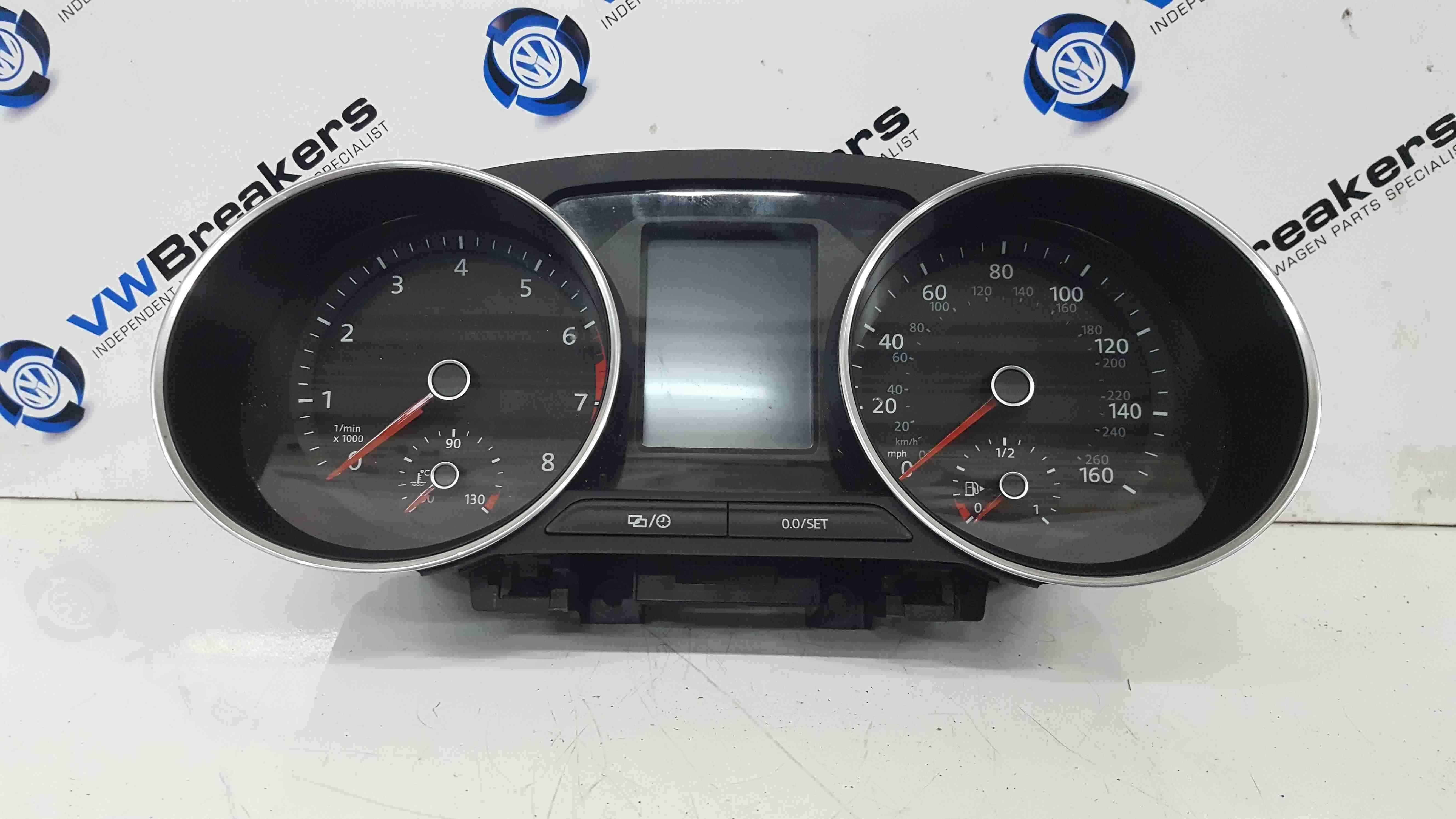 Volkswagen Polo 6C 2014-2017 Instrument Panel Dials Clocks 35K 6C0920940C