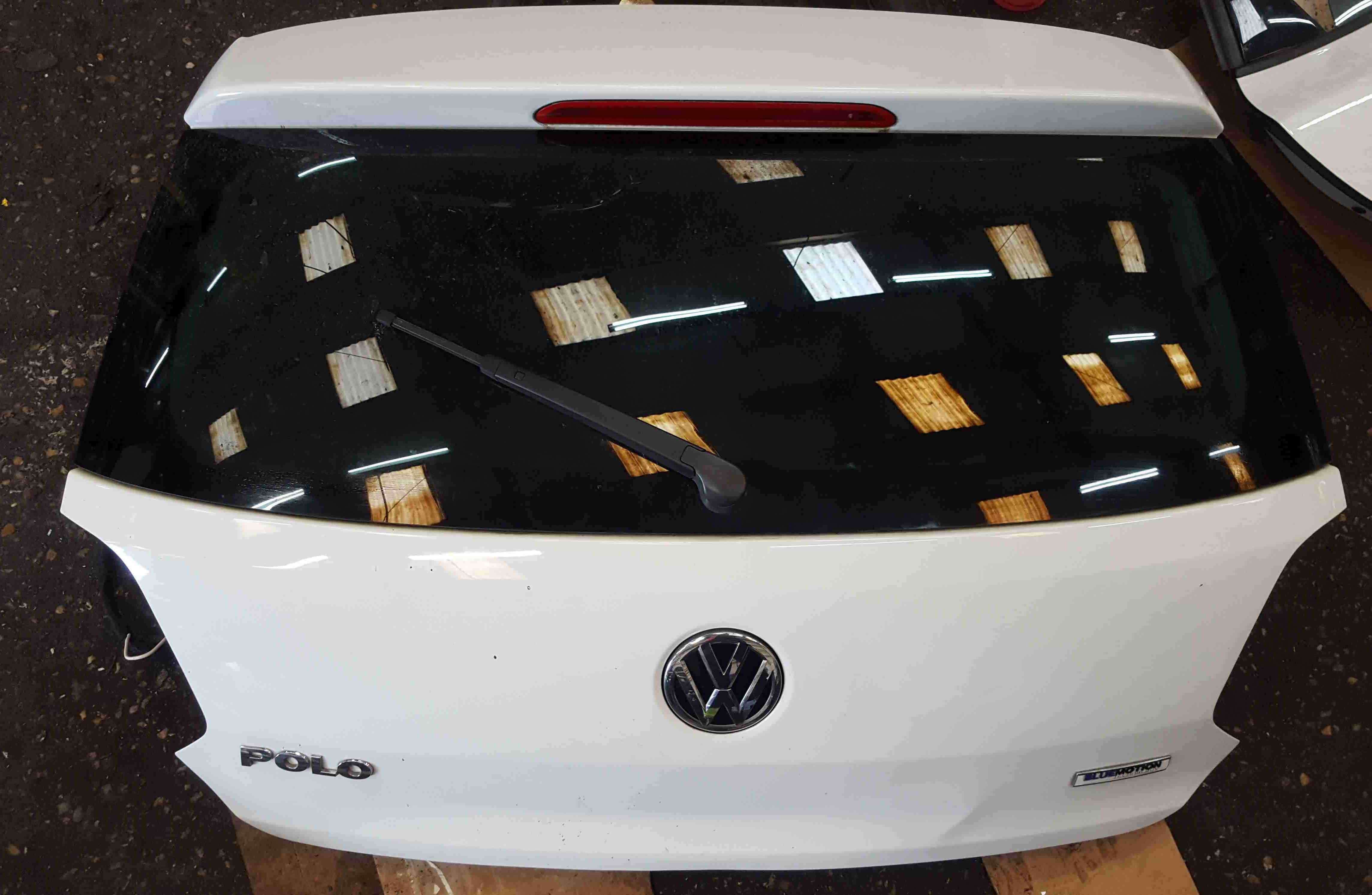 Volkswagen Polo 6C 2014-2017 Rear Tailgate Boot White LC9A