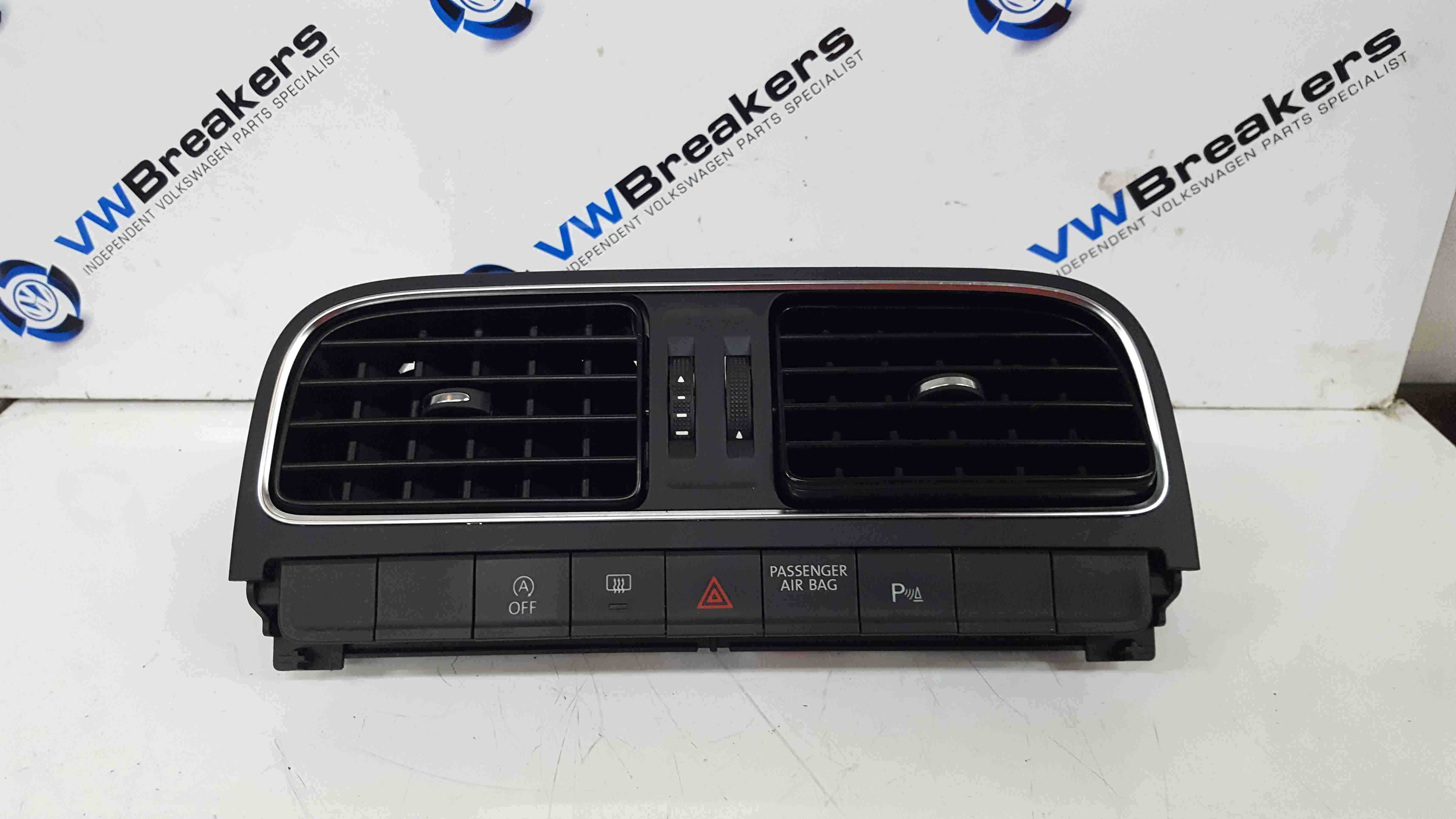 Volkswagen Polo 6C 2014-2018 Heater Vents Centre With All Buttons Parking Aid