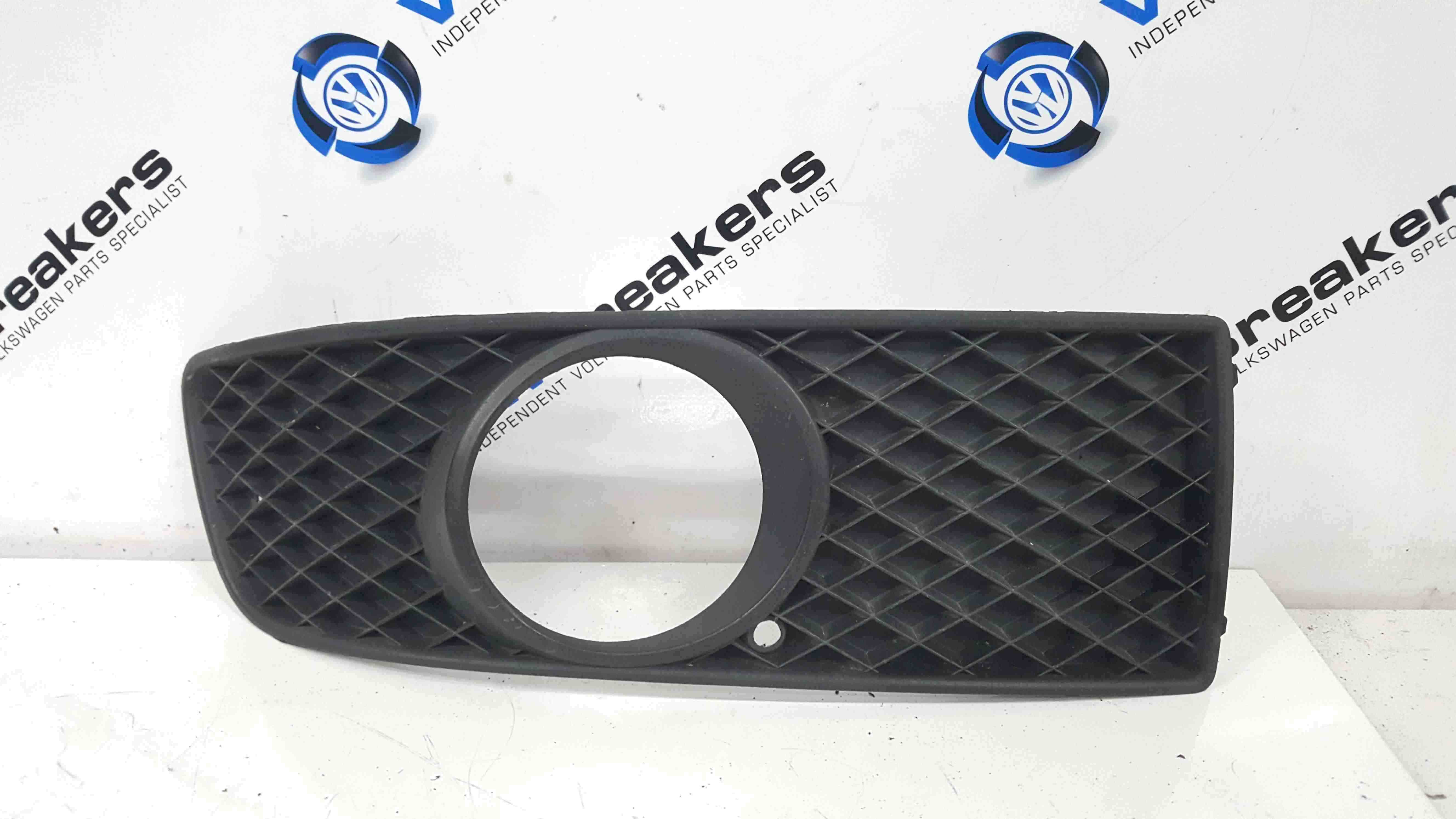 Volkswagen Polo 6N2 1999-2003 Drivers OSF Front Bumper Fog Light Surround Trim