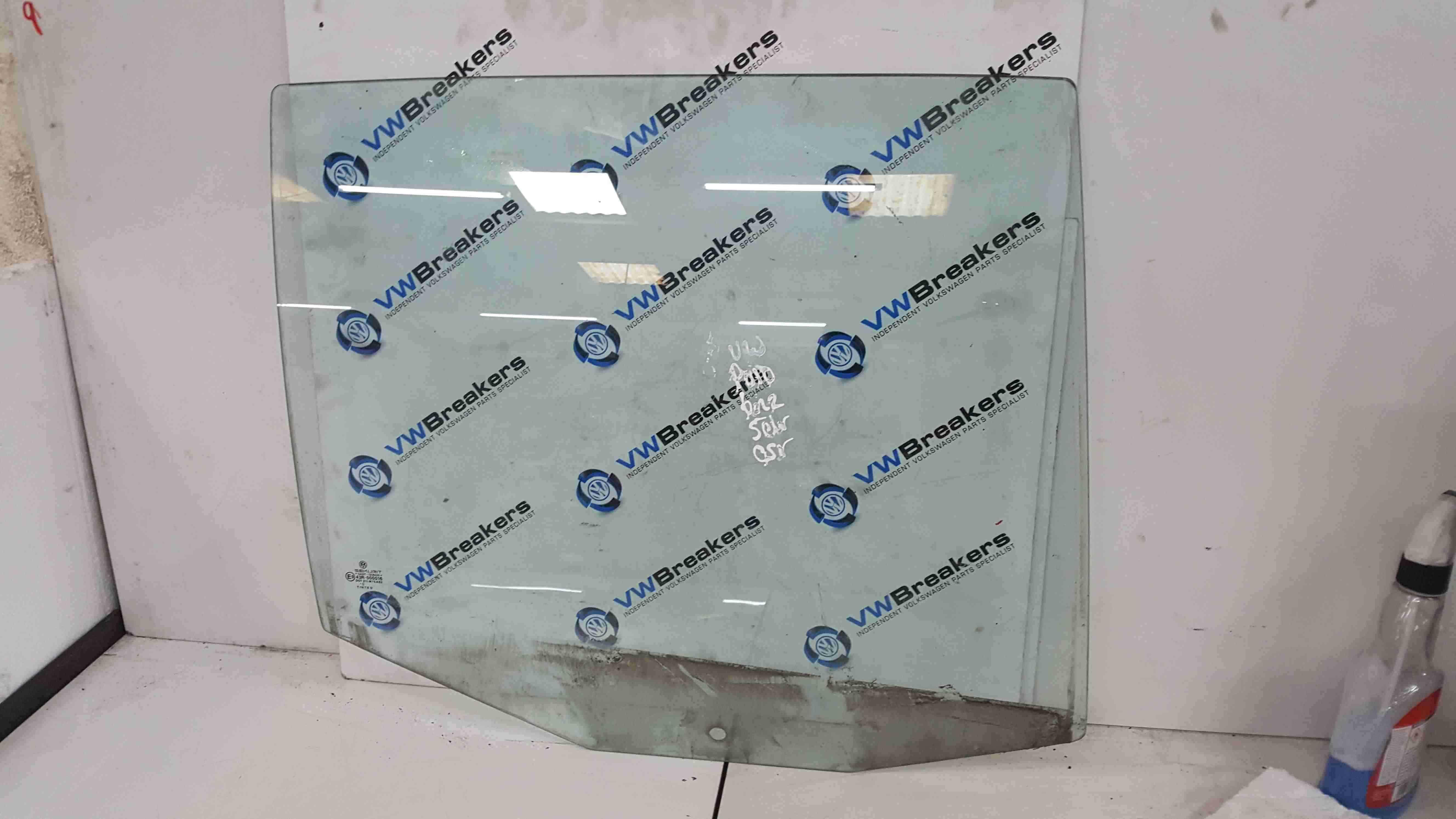 Volkswagen Polo 6N2 1999-2003 Drivers OSR Rear Window Glass