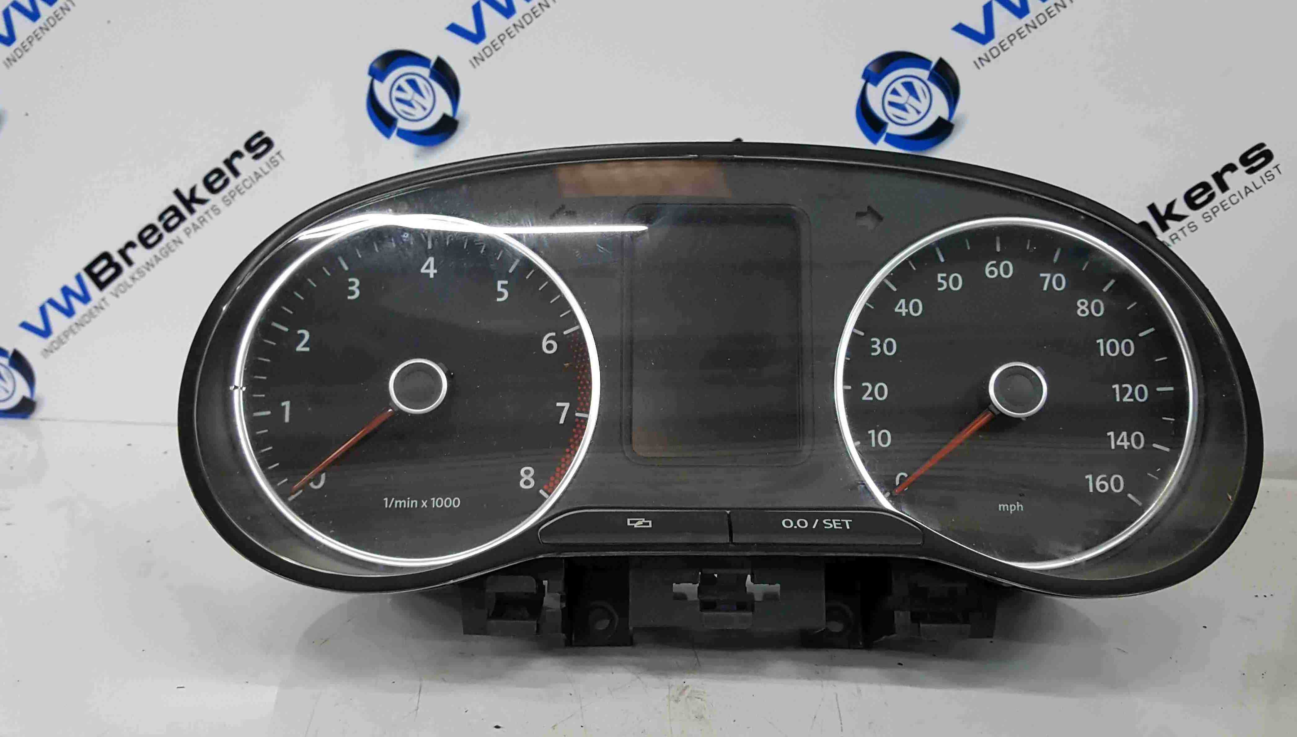 Volkswagen Polo 6R 2009-2014 Instrument Panel Dials Gauges Clocks 62K 6R0920960K