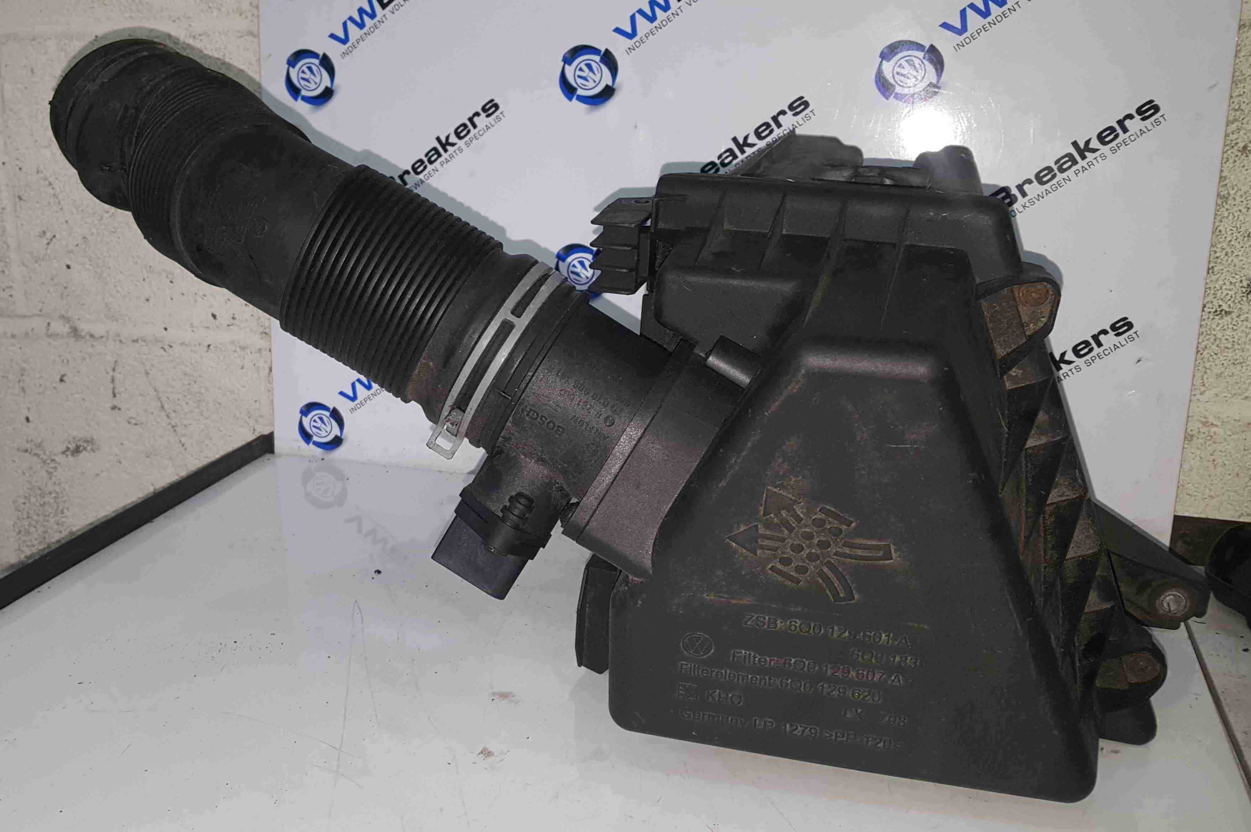 Volkswagen Polo 9N 2003-2006 1.4 TDi Airbox Filter Housing AMF 6Q0129601A