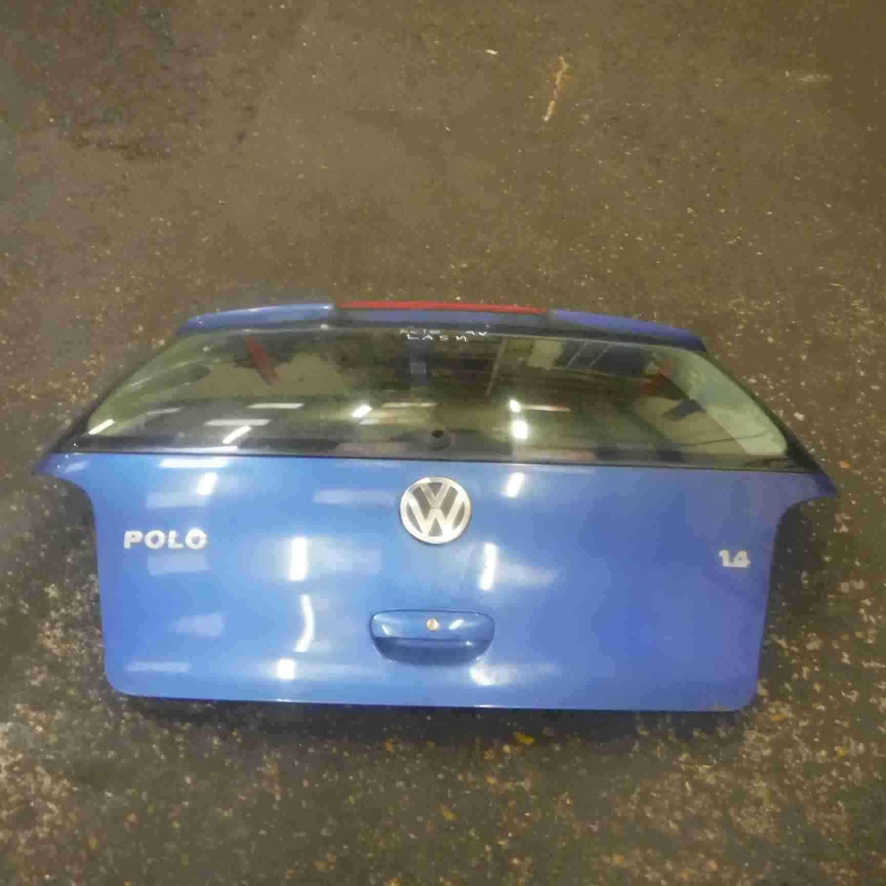 Volkswagen Polo 9N 2003-2006 Rear Tailgate Boot Blue LA5M
