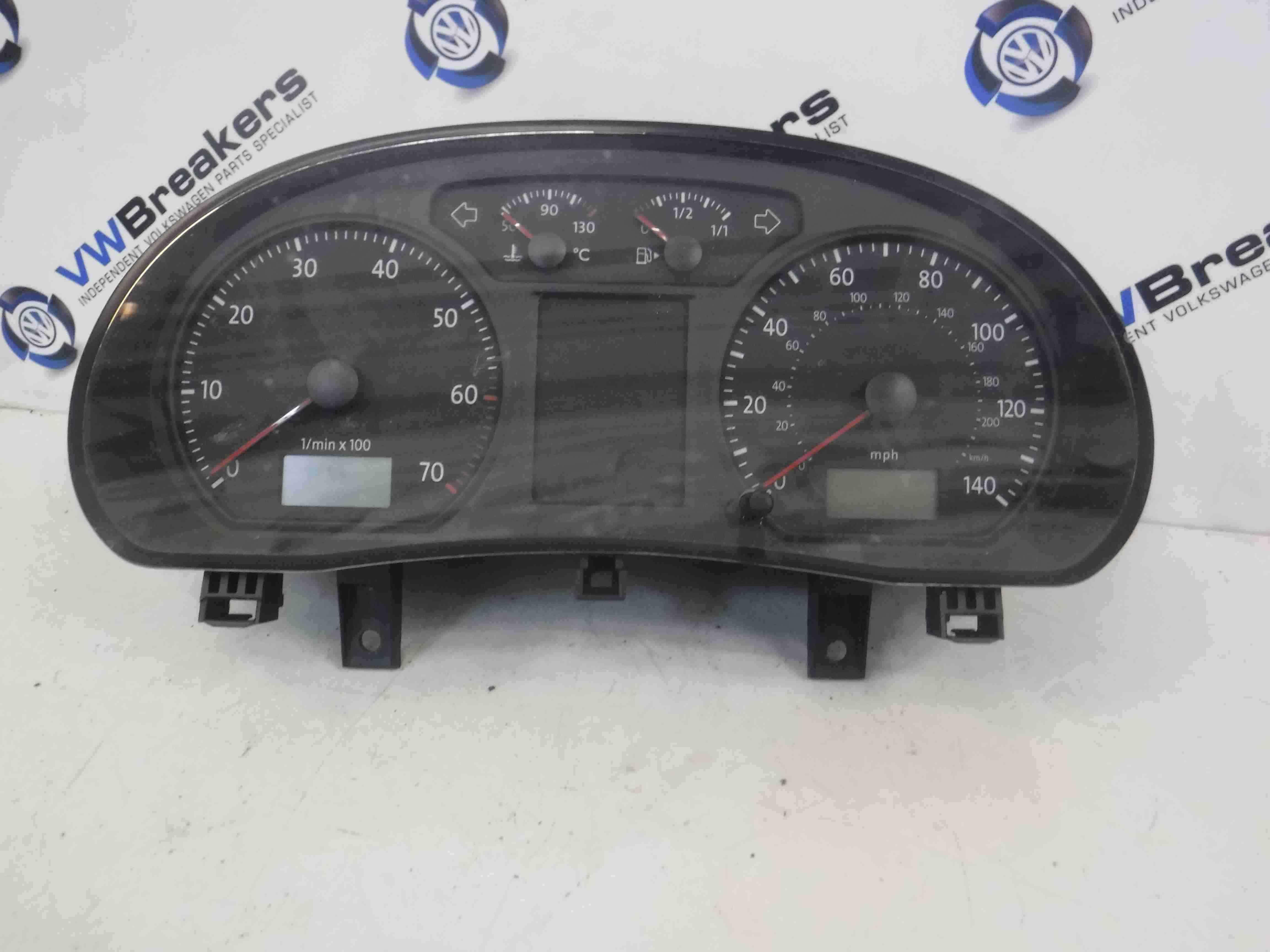 Volkswagen Polo 9N3 2006-2008 Instrument Panel Dials Gauges Clocks 120K
