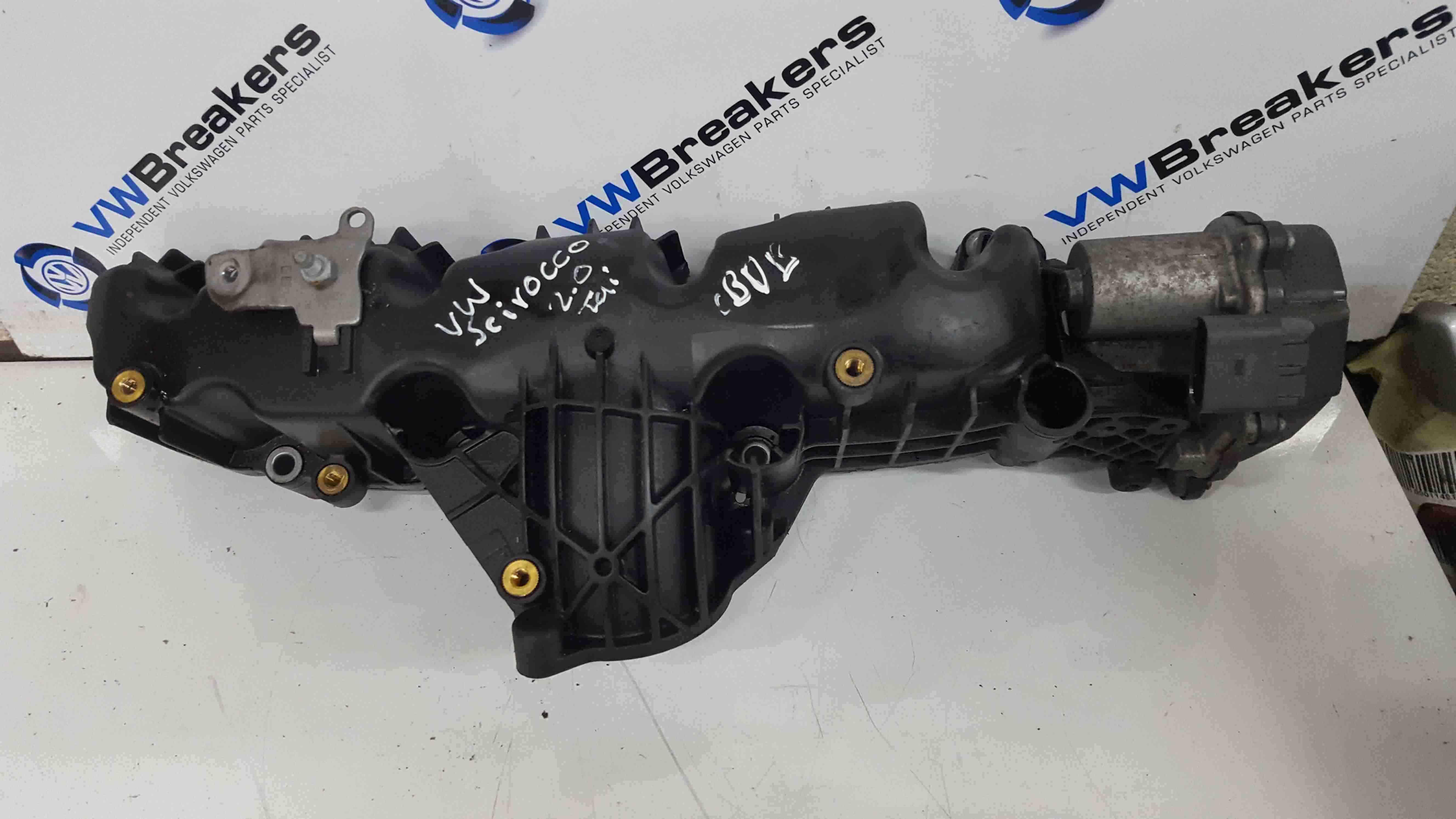 Volkswagen Scirocco 2008-2014 2.0 TDi Intake Inlet Manifold CBDB 03l129711AG