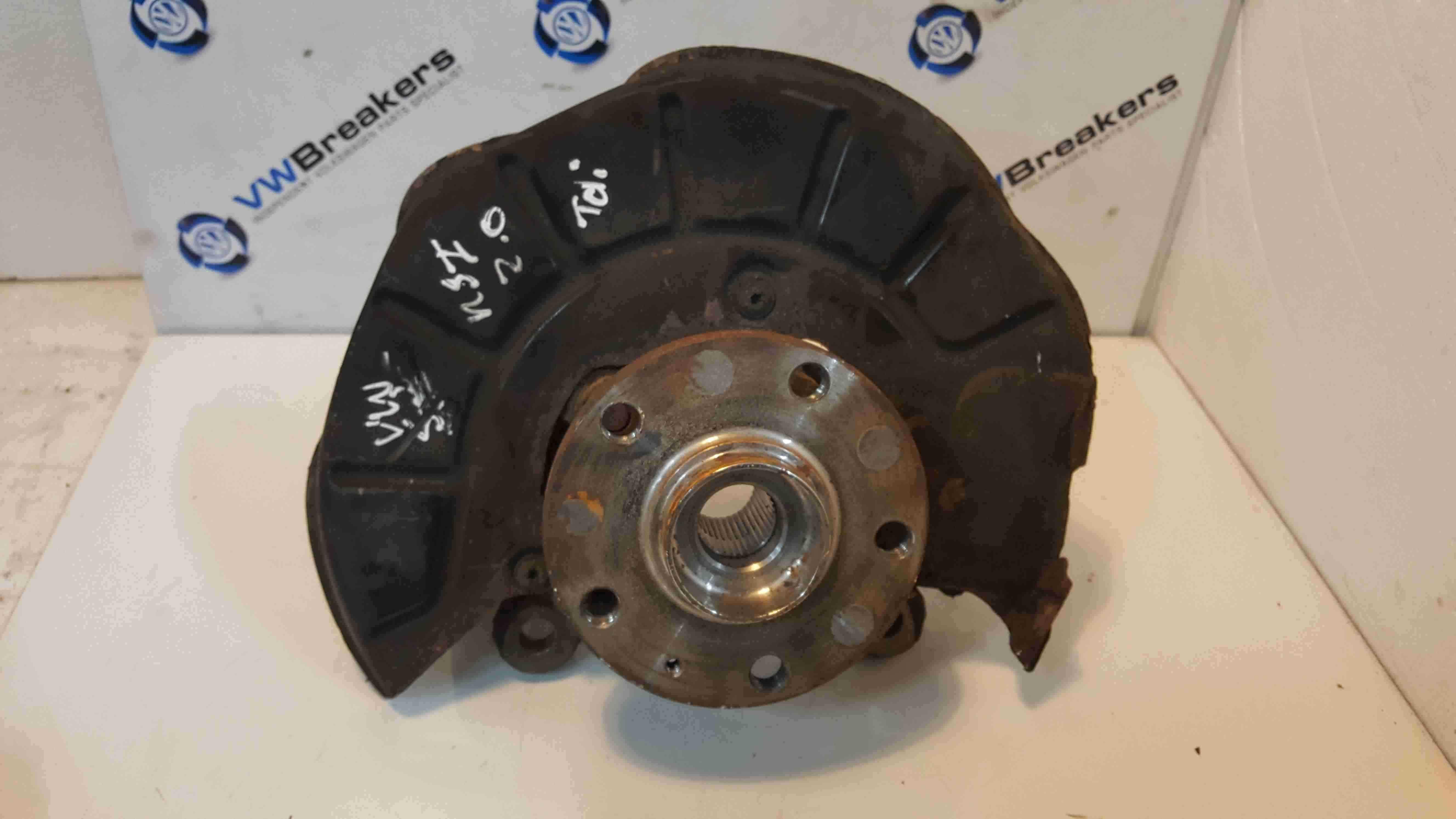 Volkswagen Scirocco 2008-2014 2.0 TDi Passenger NSF Front Wheel Hub