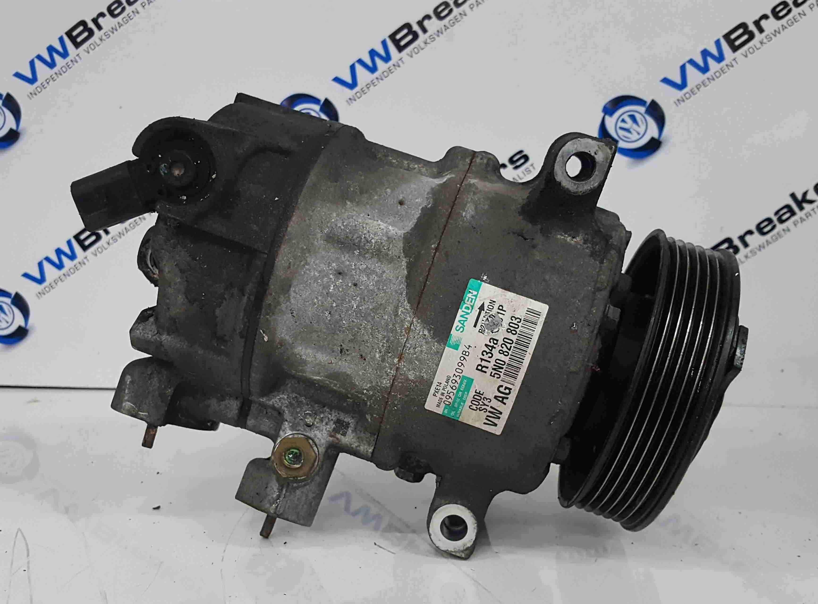 Volkswagen Scirocco 2008-2014 Aircon Pump Compressor Unit 5N0820803