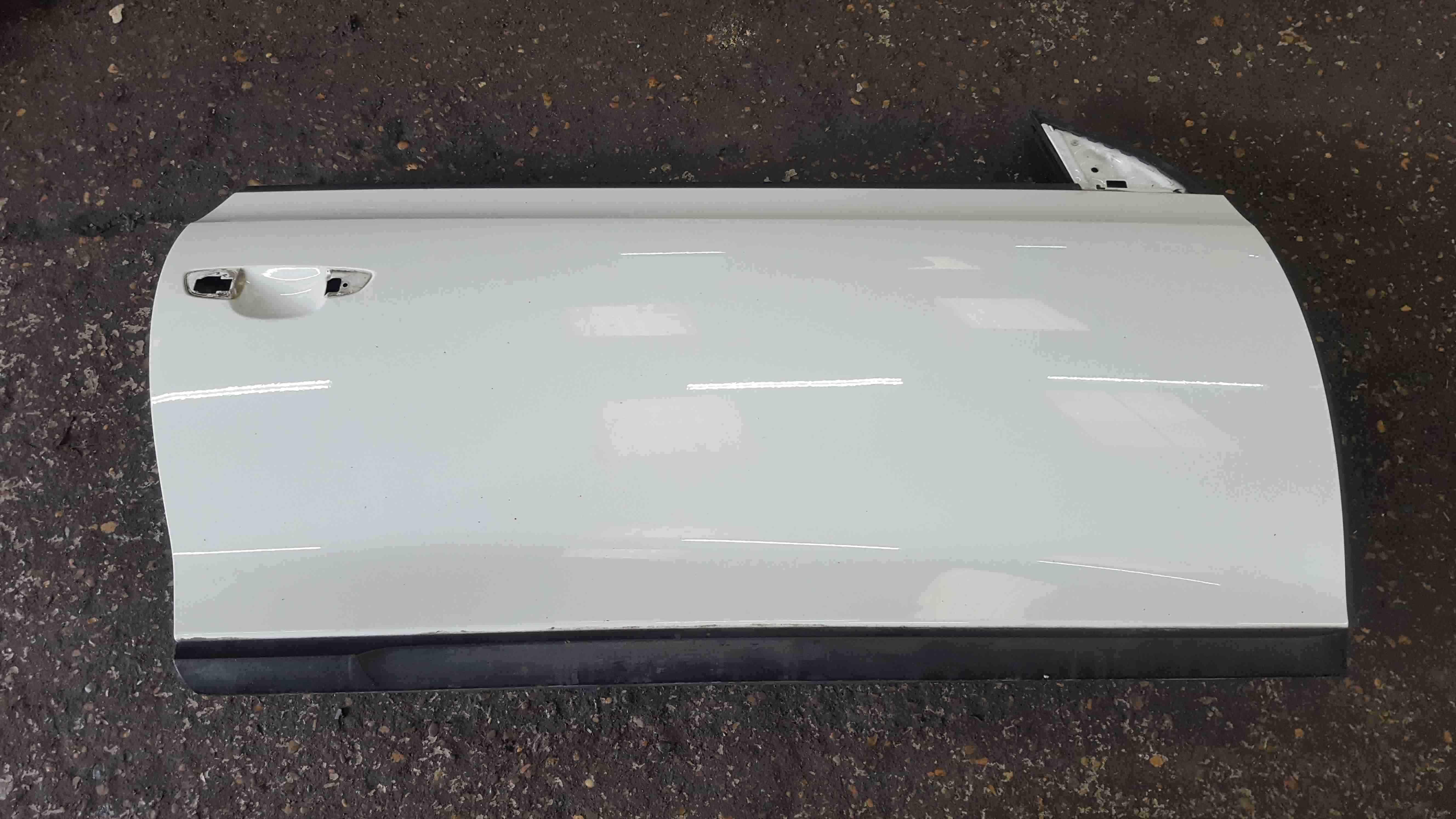 Volkswagen Scirocco 2008-2014 Drivers OSF Front Door White LB9A