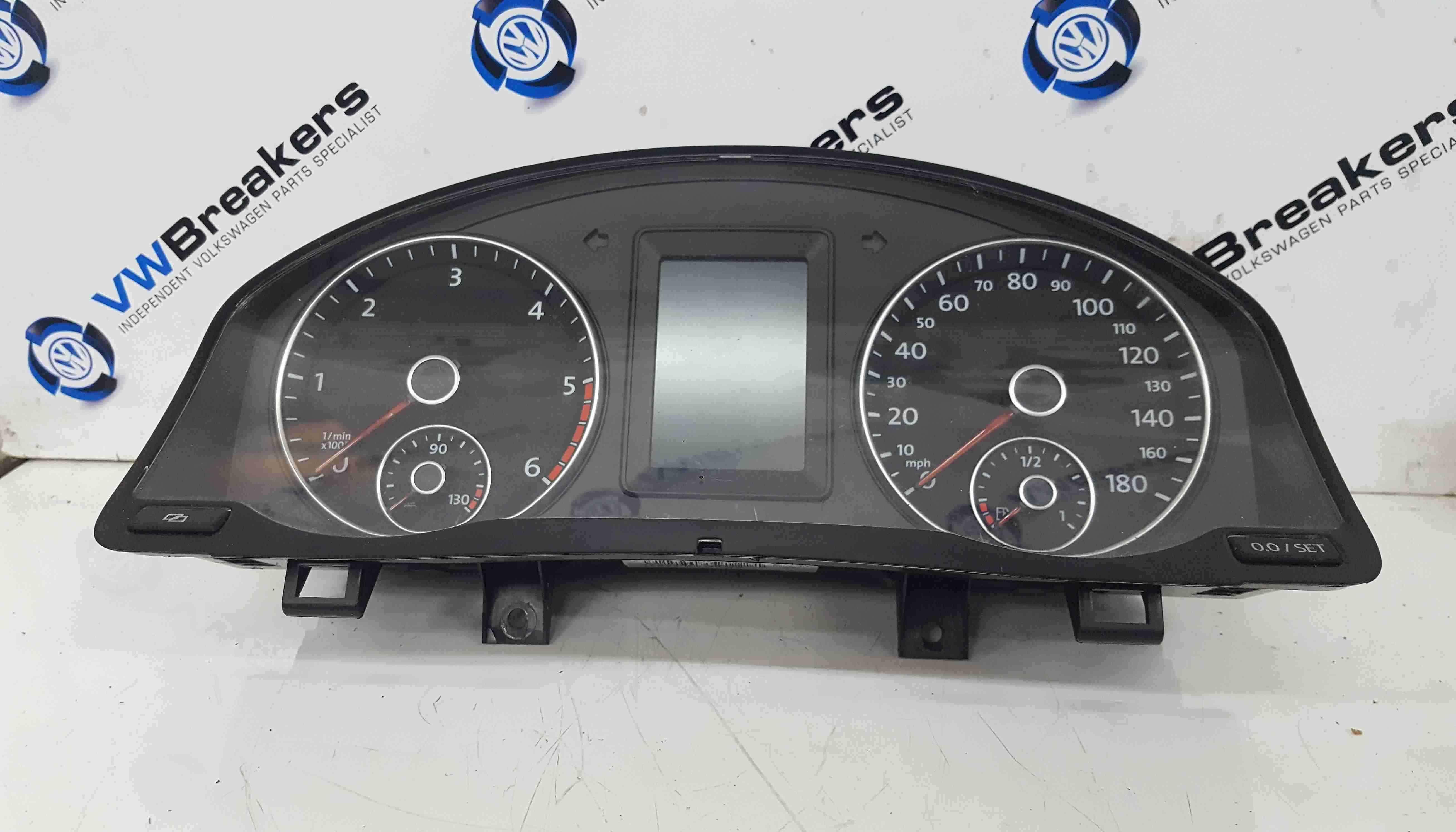 Volkswagen Scirocco 2008-2014 Instrument Panel Clocks Dials Cluster 95K