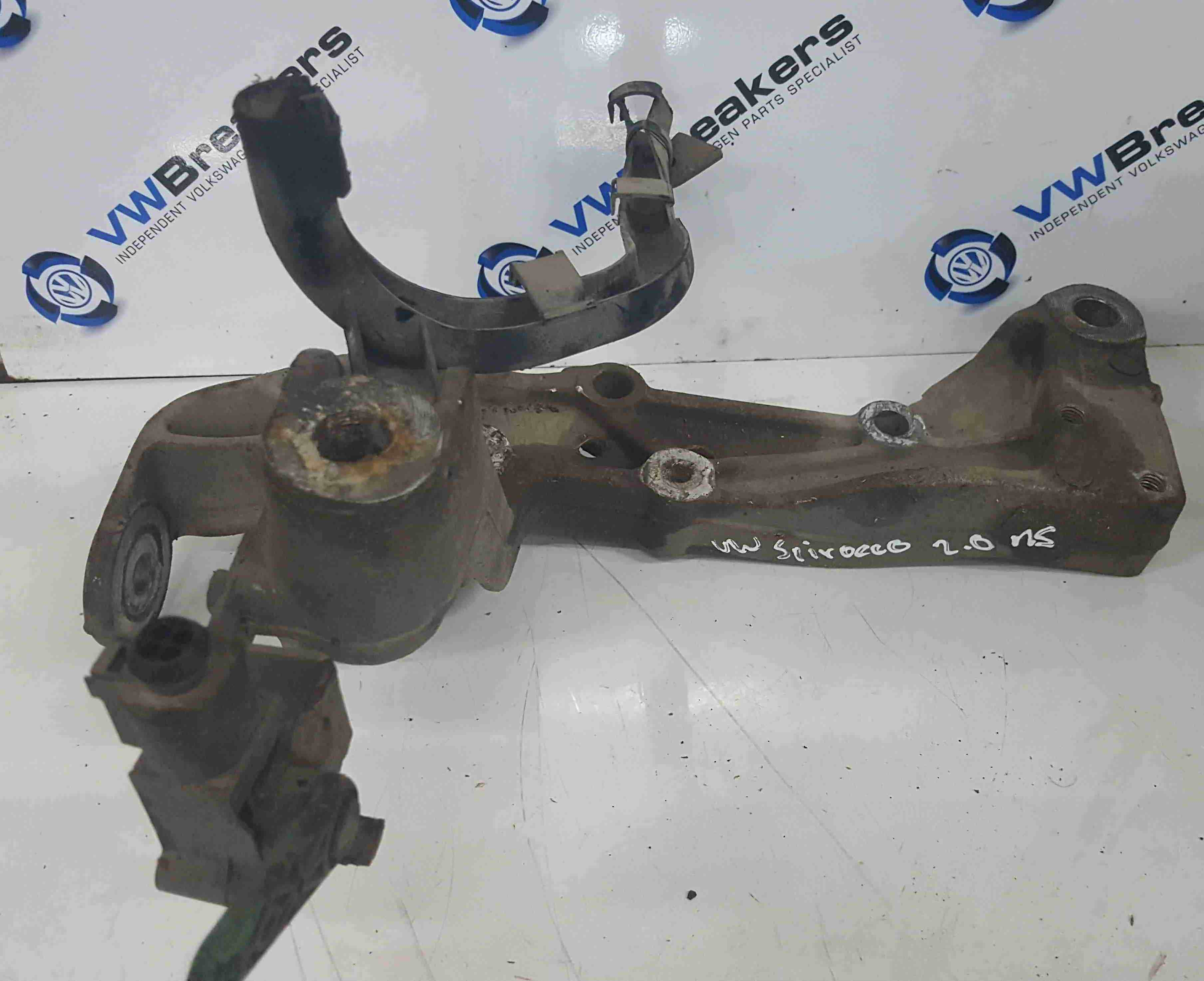 Volkswagen Scirocco 2008-2014 Passenger NS Engine Bracket Subframe Wish Bone