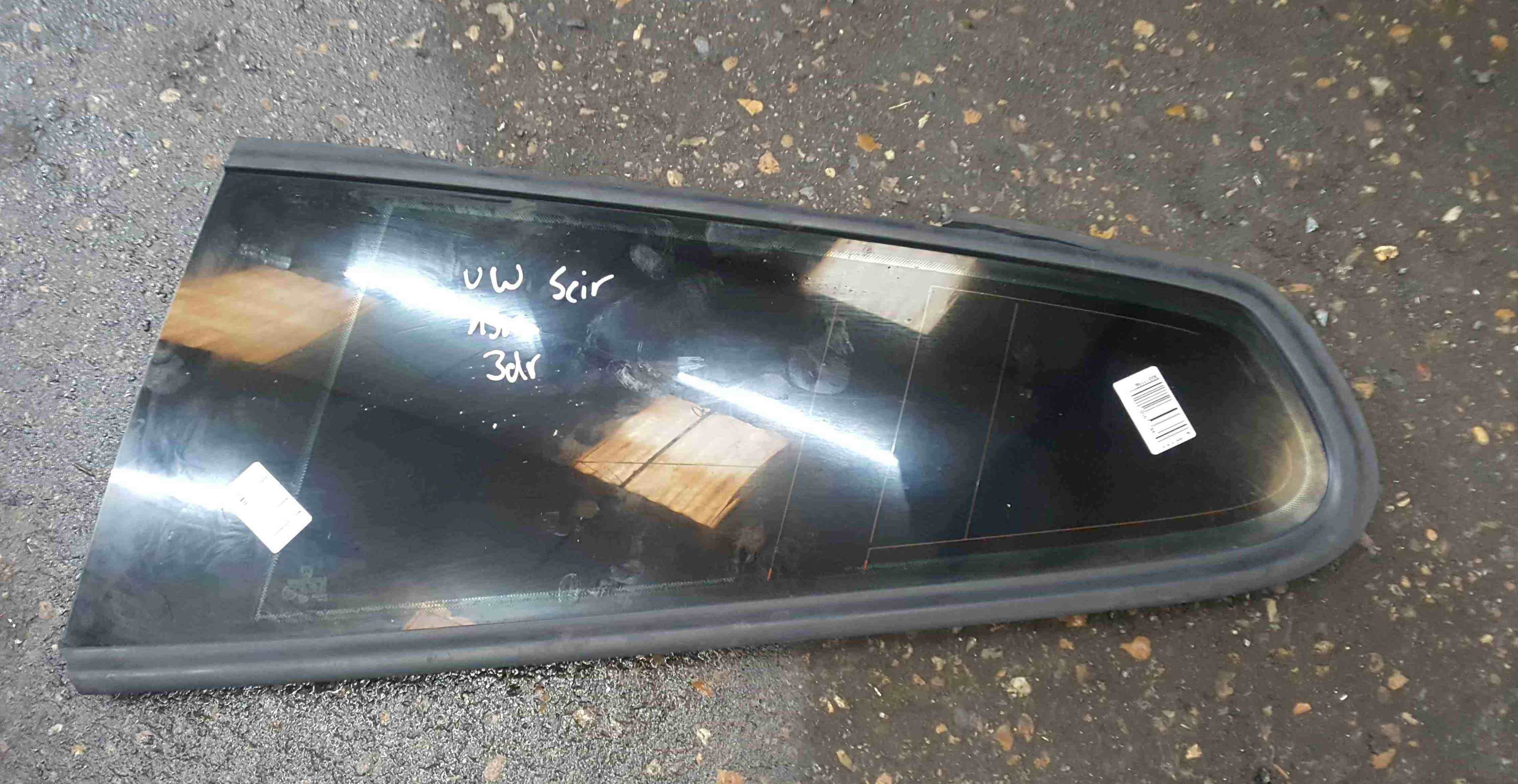 Volkswagen Scirocco 2008-2014 Passenger NSR Rear Fixed Window Glass Tinted