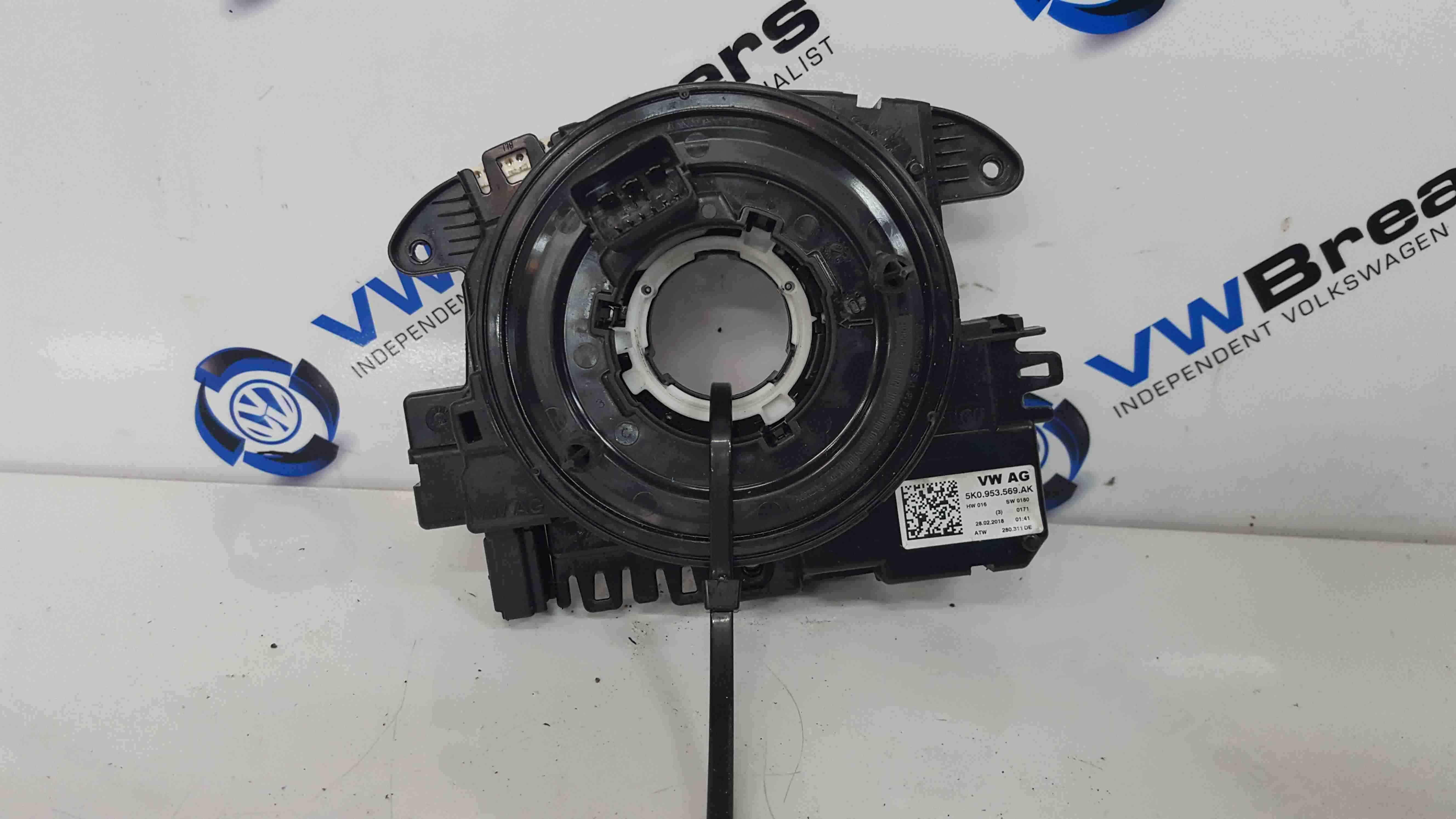 Volkswagen Scirocco 2008-2014 Steering Wheel Squib Slip Ring Clock Spring