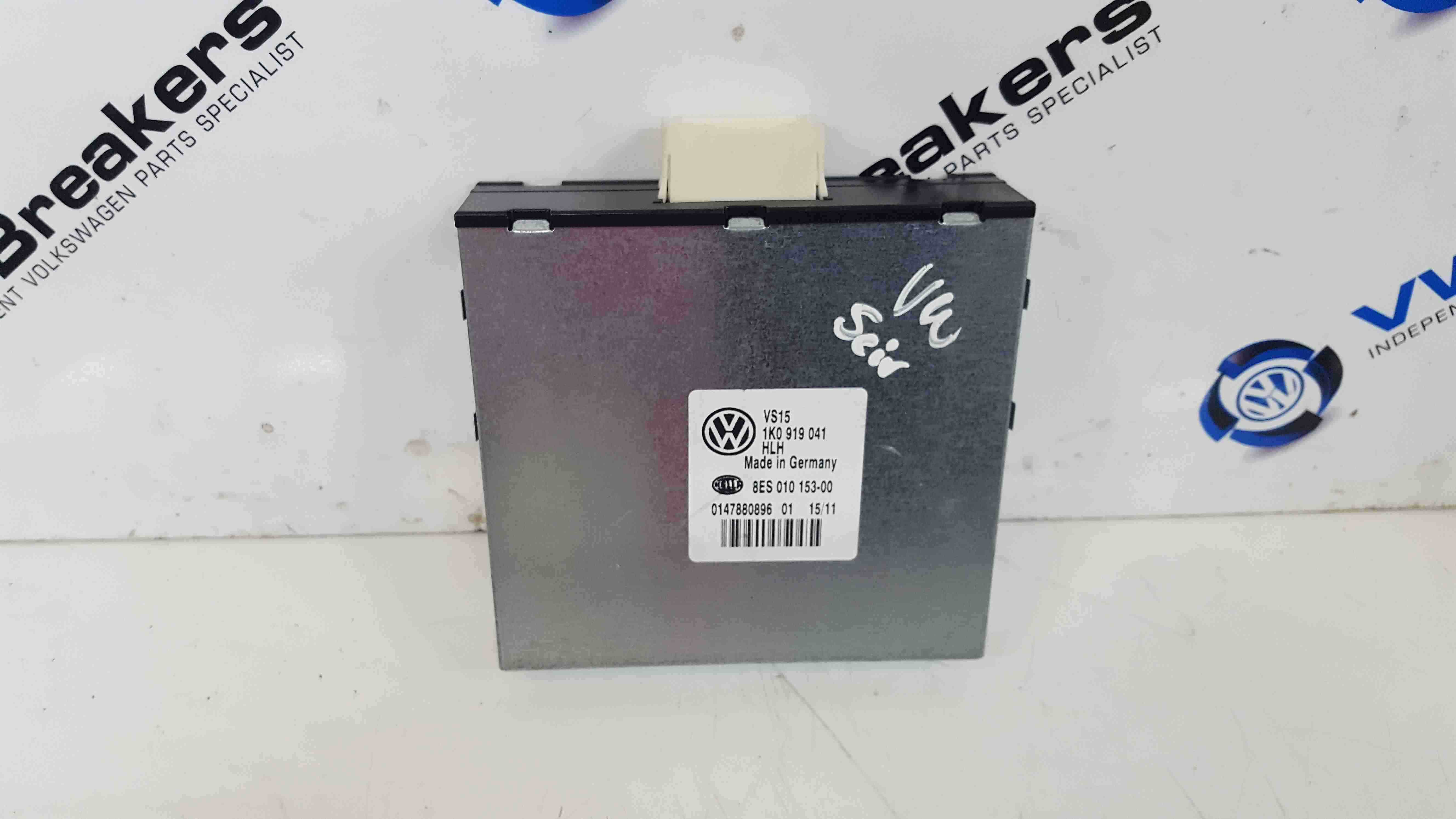 Volkswagen Scirocco 2008-2014 Voltage Stabilizer ECU Control Module Unit