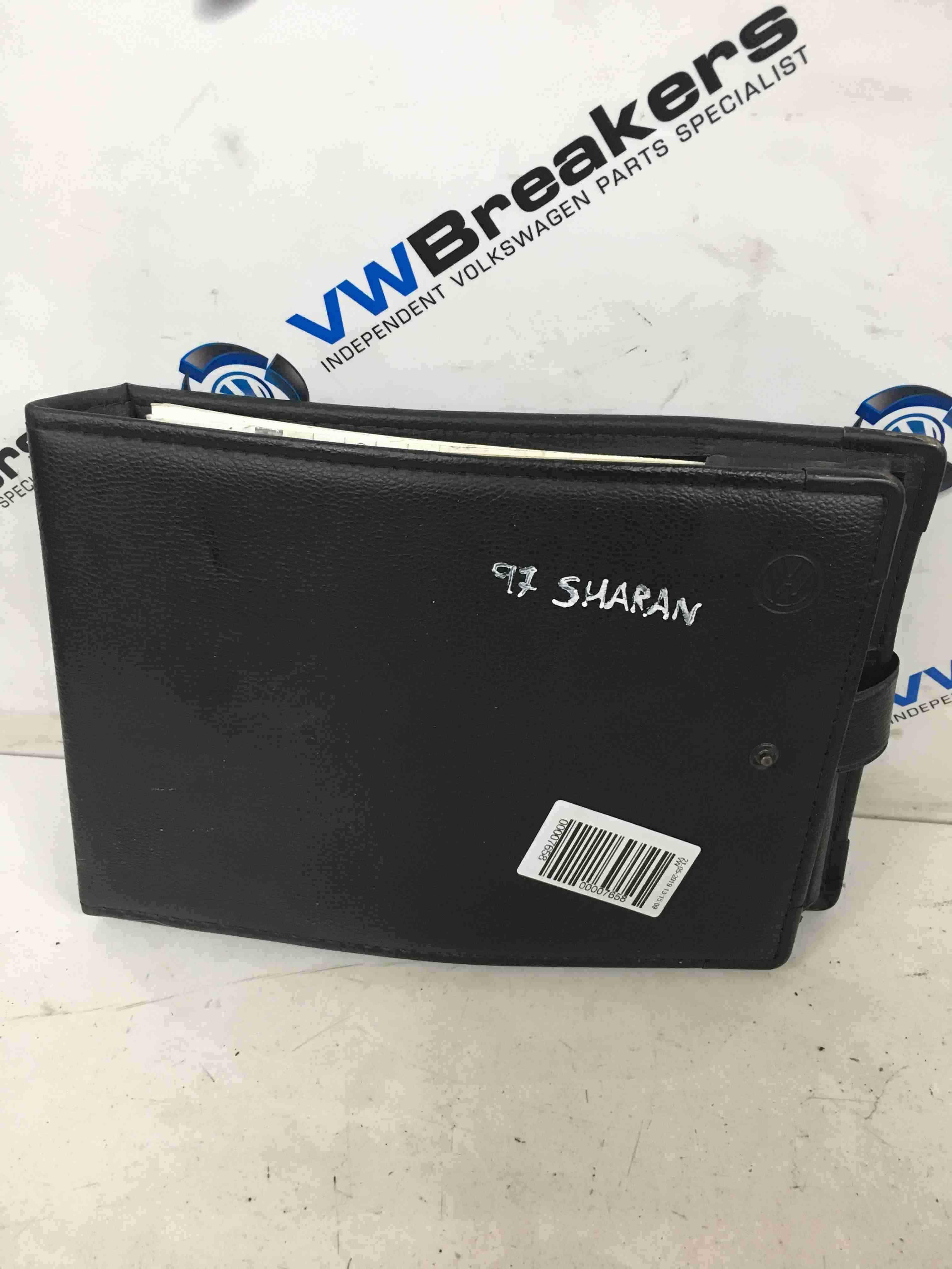 Volkswagen Sharan 1995-2003 Document Wallet Holder Folder