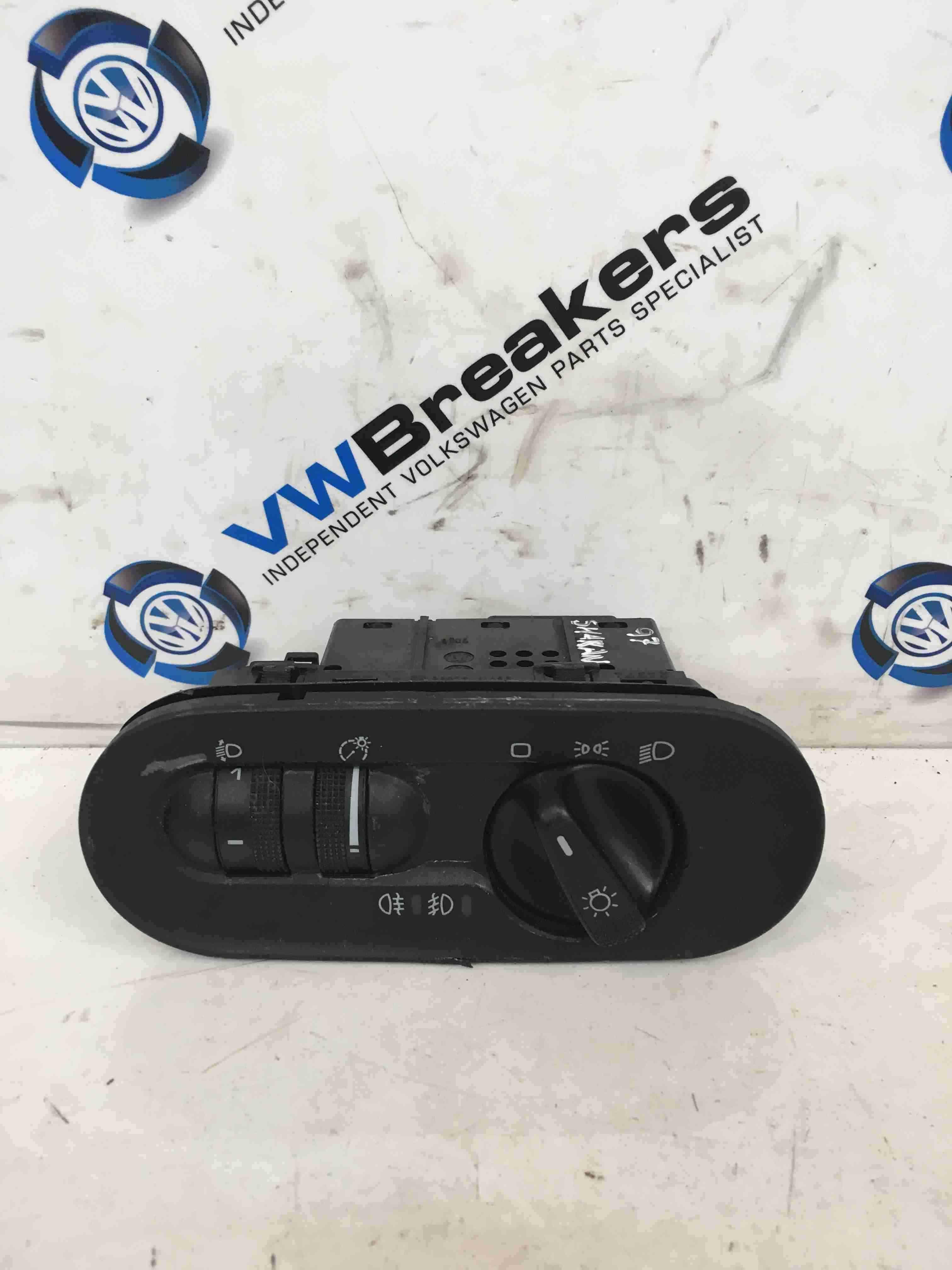 Volkswagen Sharan 1995-2003 Headlight Adjuster Panel Front And Rear Fog Lights