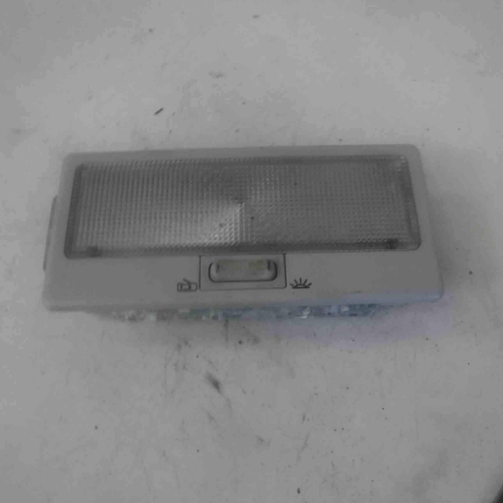 Volkswagen Sharan 2000-2003 Rear Roof Interior Reading Light 357947105