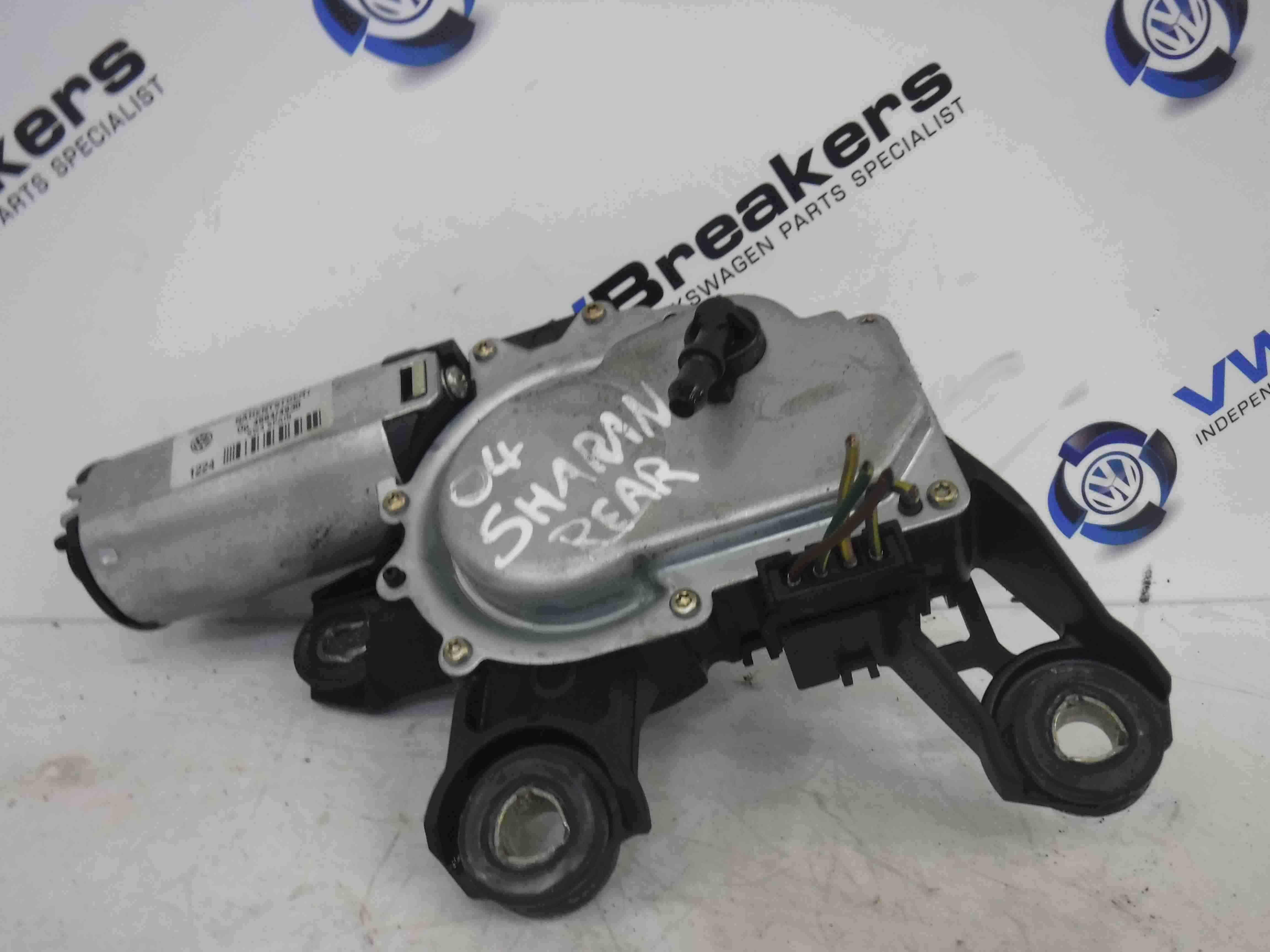 Volkswagen Sharan 2000-2009 Rear Tailgate Boot Wiper Motor 7M3955711A