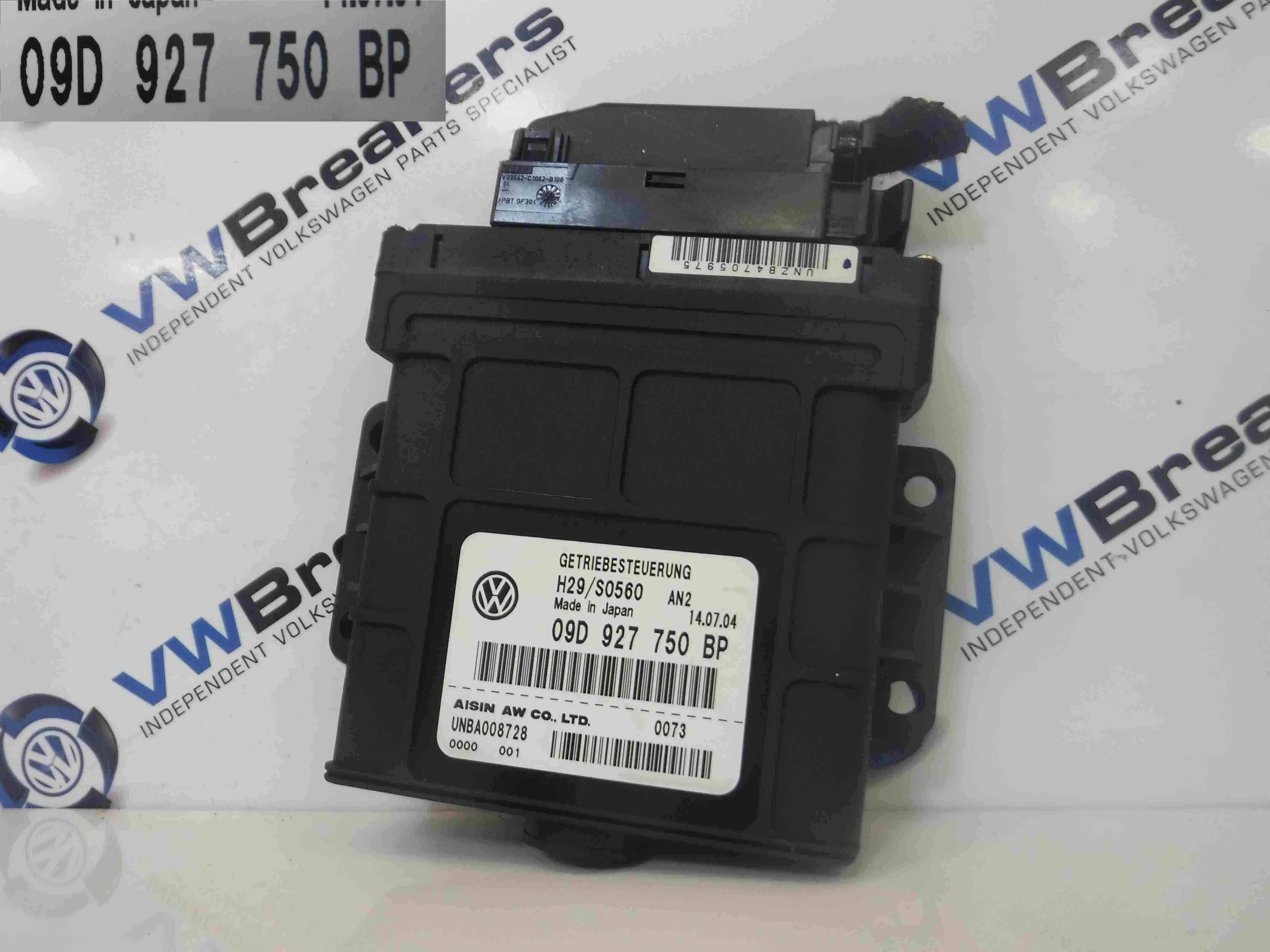Volkswagen Touareg 2002-2007 Automatic Gearbox ECU Auto 09D927750BP