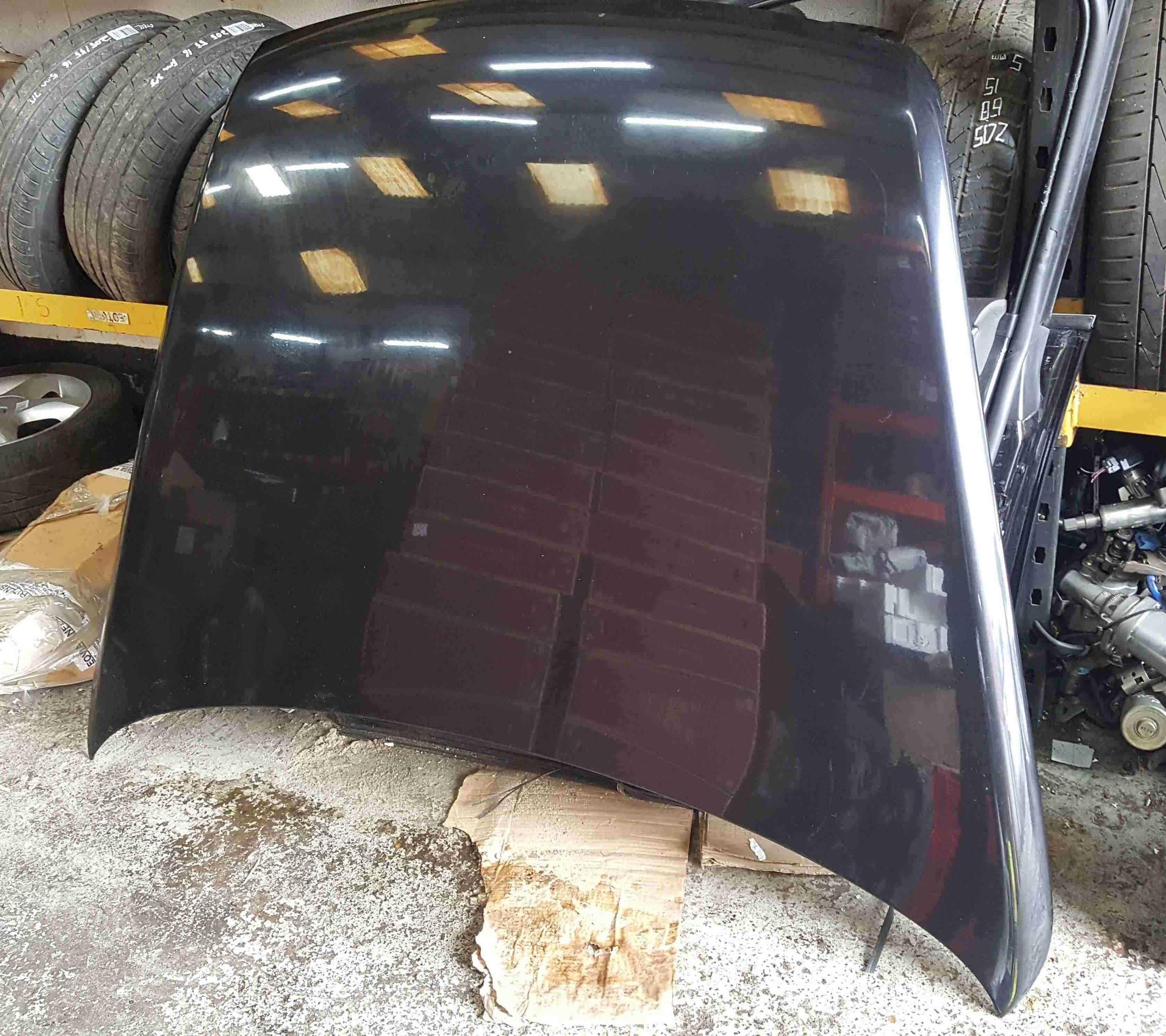 Volkswagen Touareg 2002-2007 Front Bonnet Black LC9Z