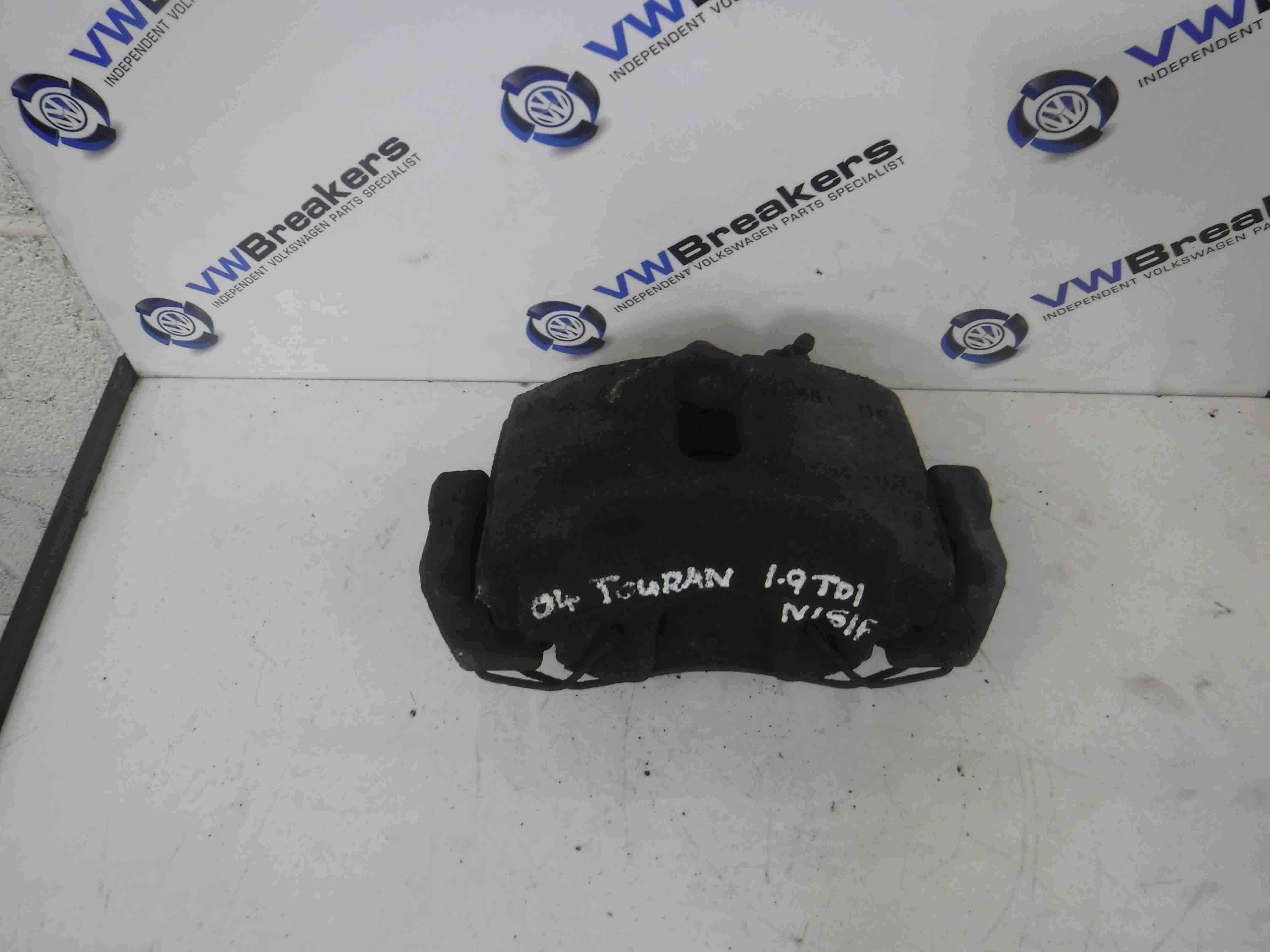 Volkswagen Touran 2003-2006  1.9 TDi Passenger NSF Front Brake Caliper