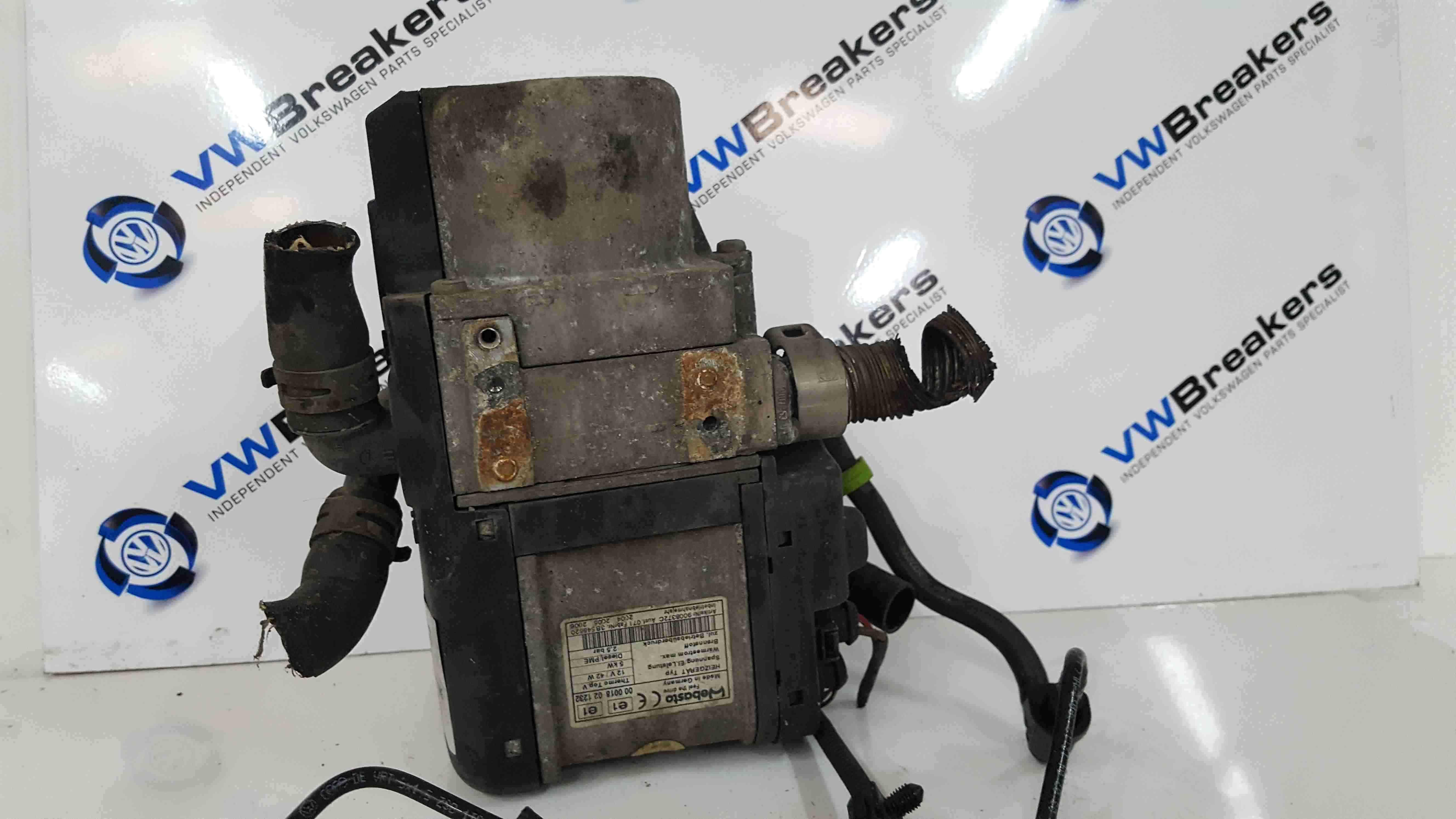 Volkswagen Touran 2003-2006 Auxillary Heater Water Pump 1K0815065R