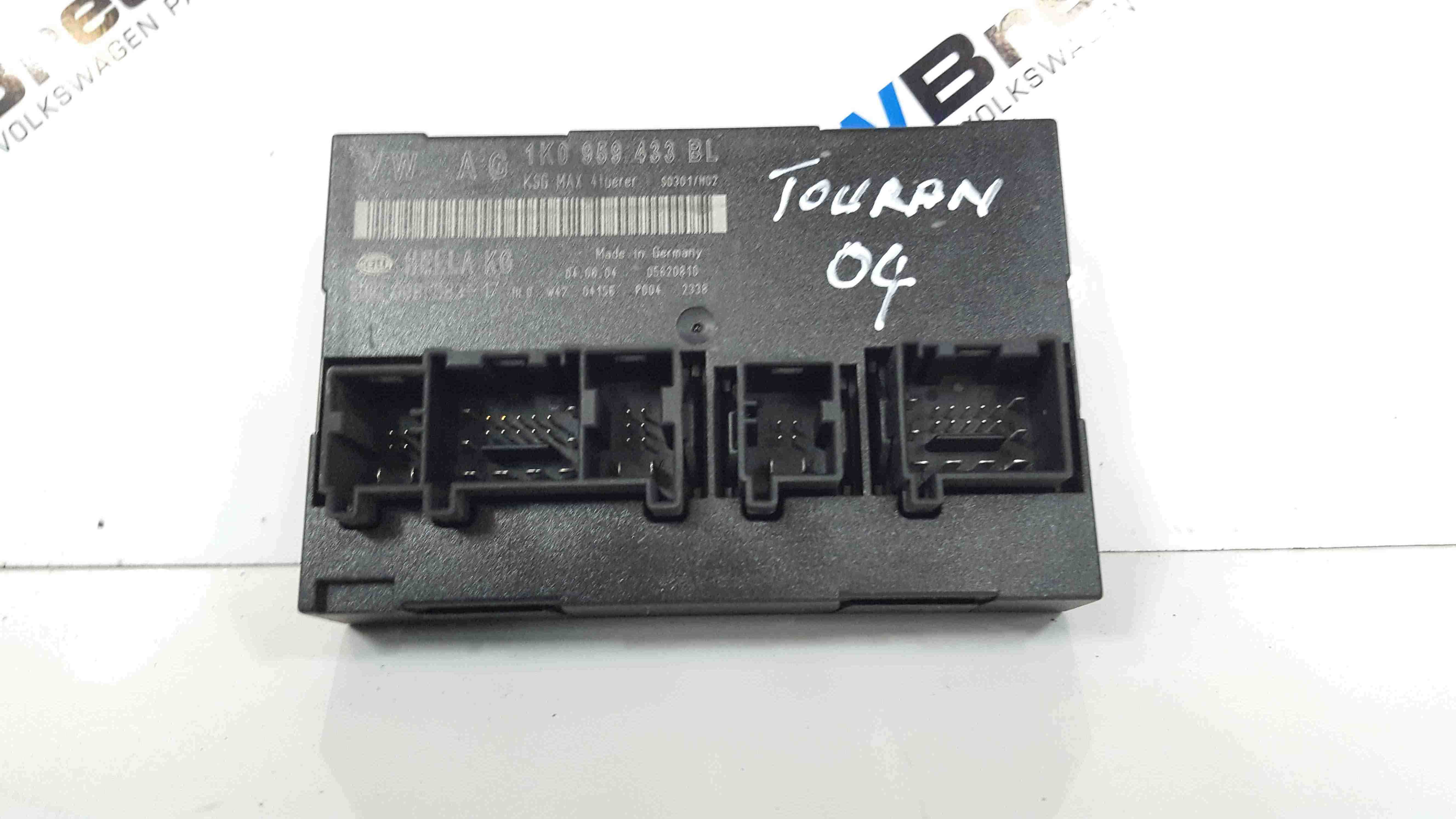 Volkswagen Touran 2003-2006 Central Locking Control Module ECU 1K0959433BL