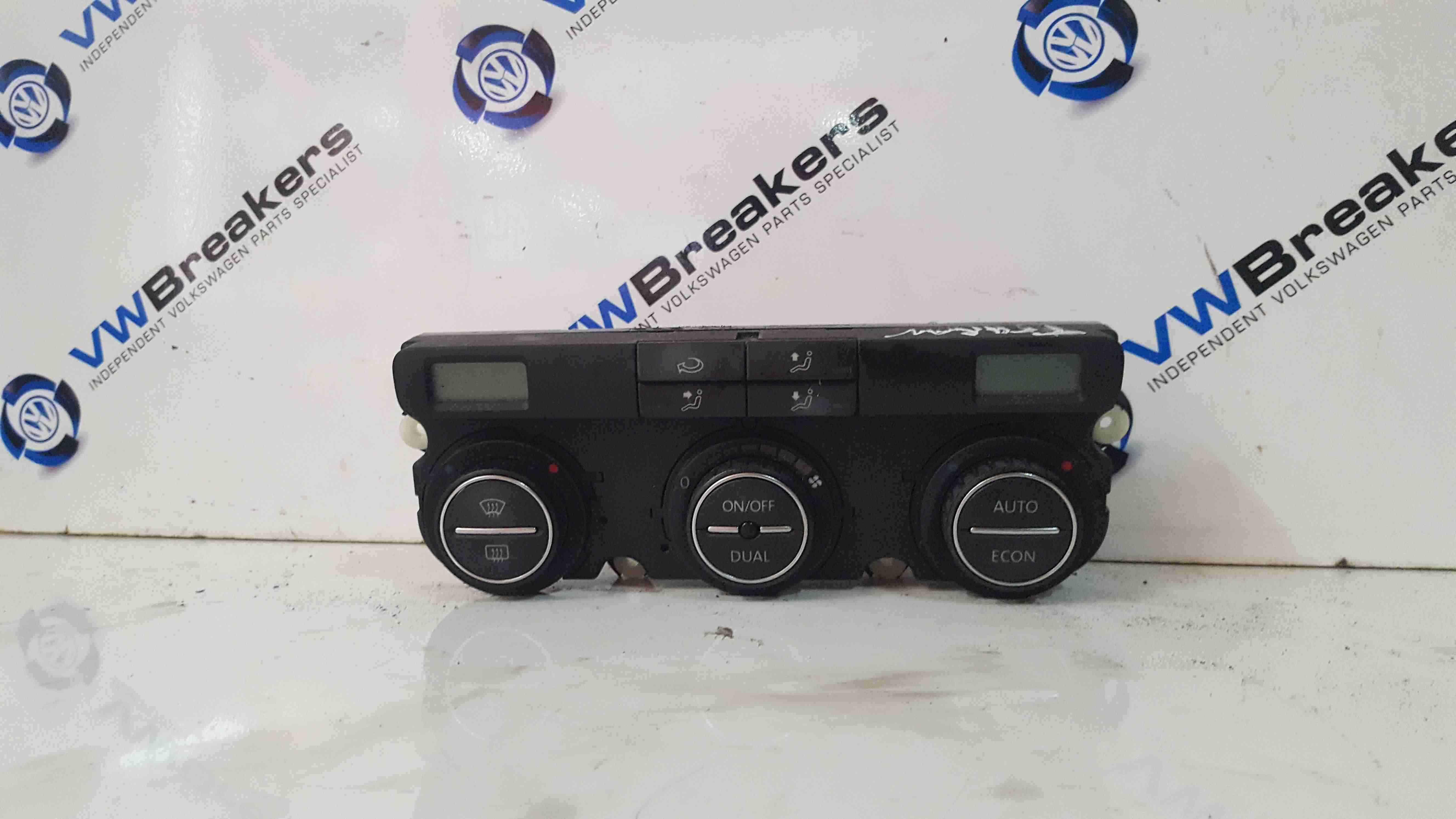 Volkswagen Touran 2003-2006 Climate Control Heater Controls