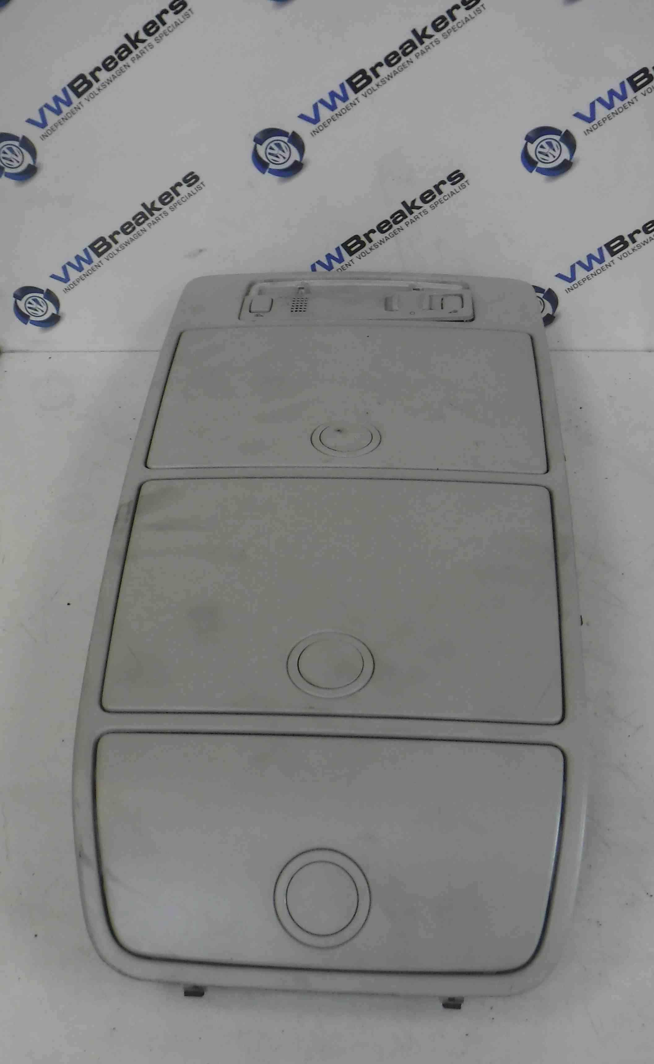 Volkswagen Touran 2003-2006 Interior Roof Insert Light Tray 1T0868837B