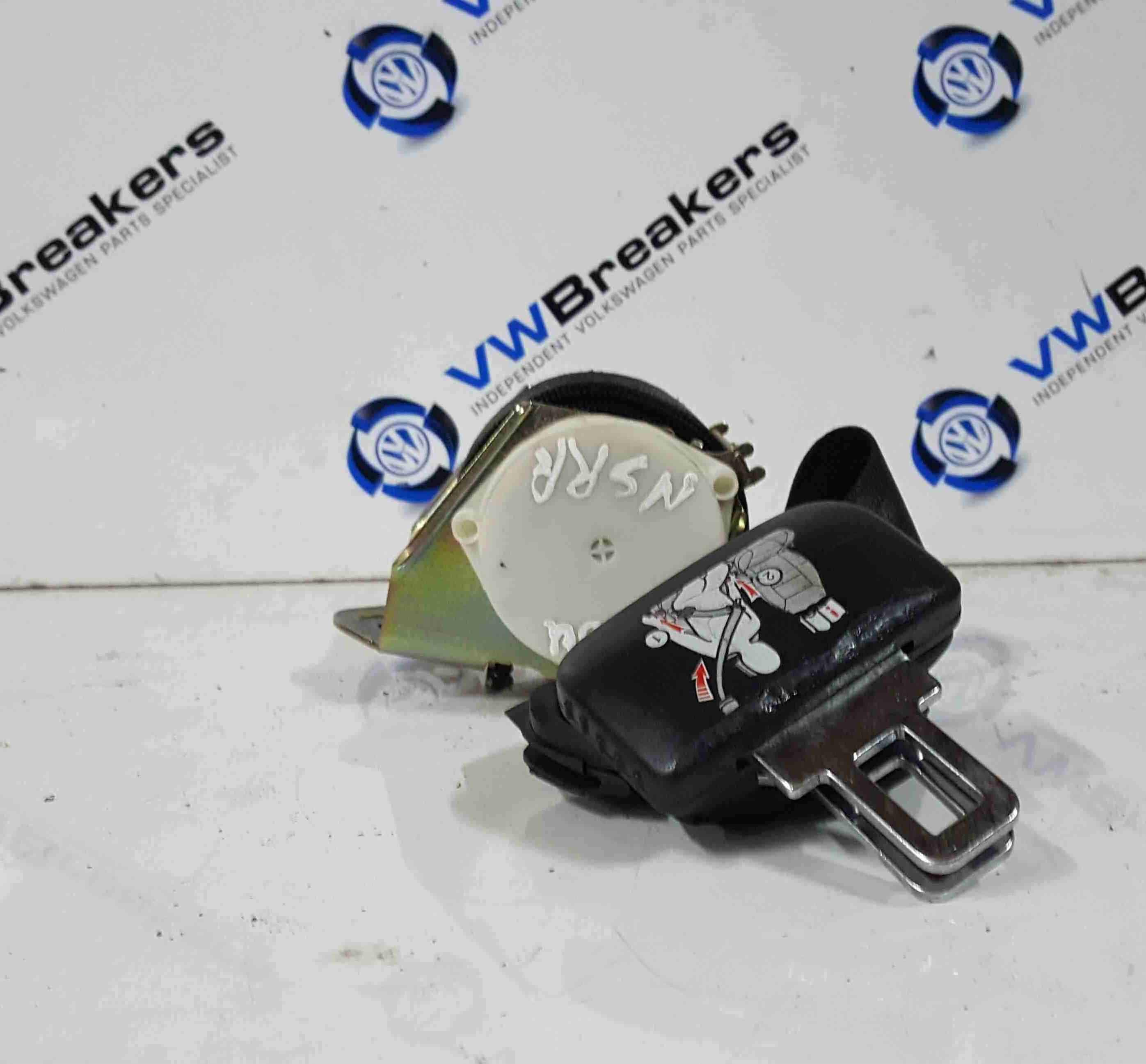 Volkswagen Touran 2003-2006 Passenger NSR Rear Boot Seat Belt