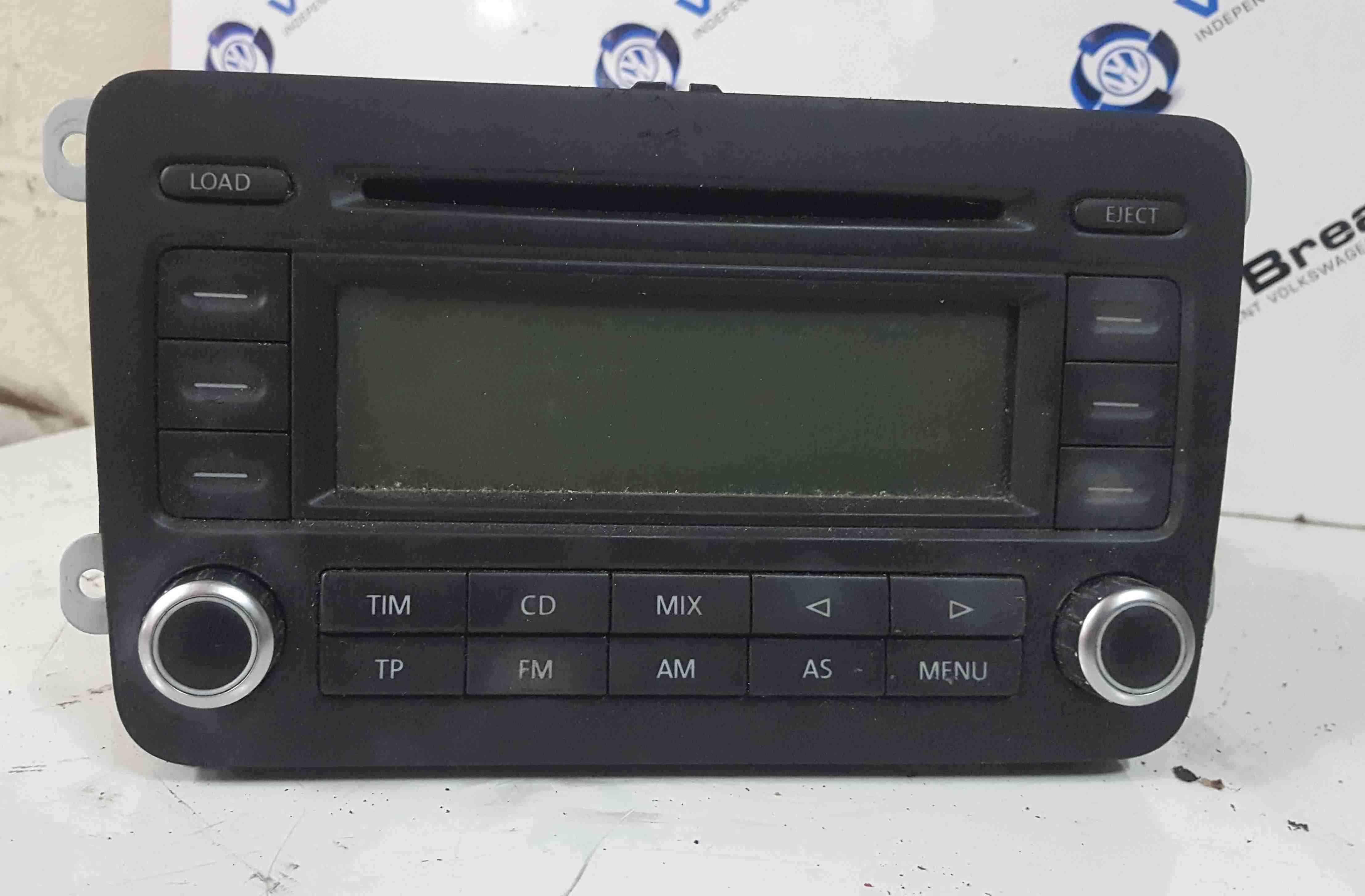 Volkswagen Touran 2003-2006 Radio Cd Player Unit 1K0035195B