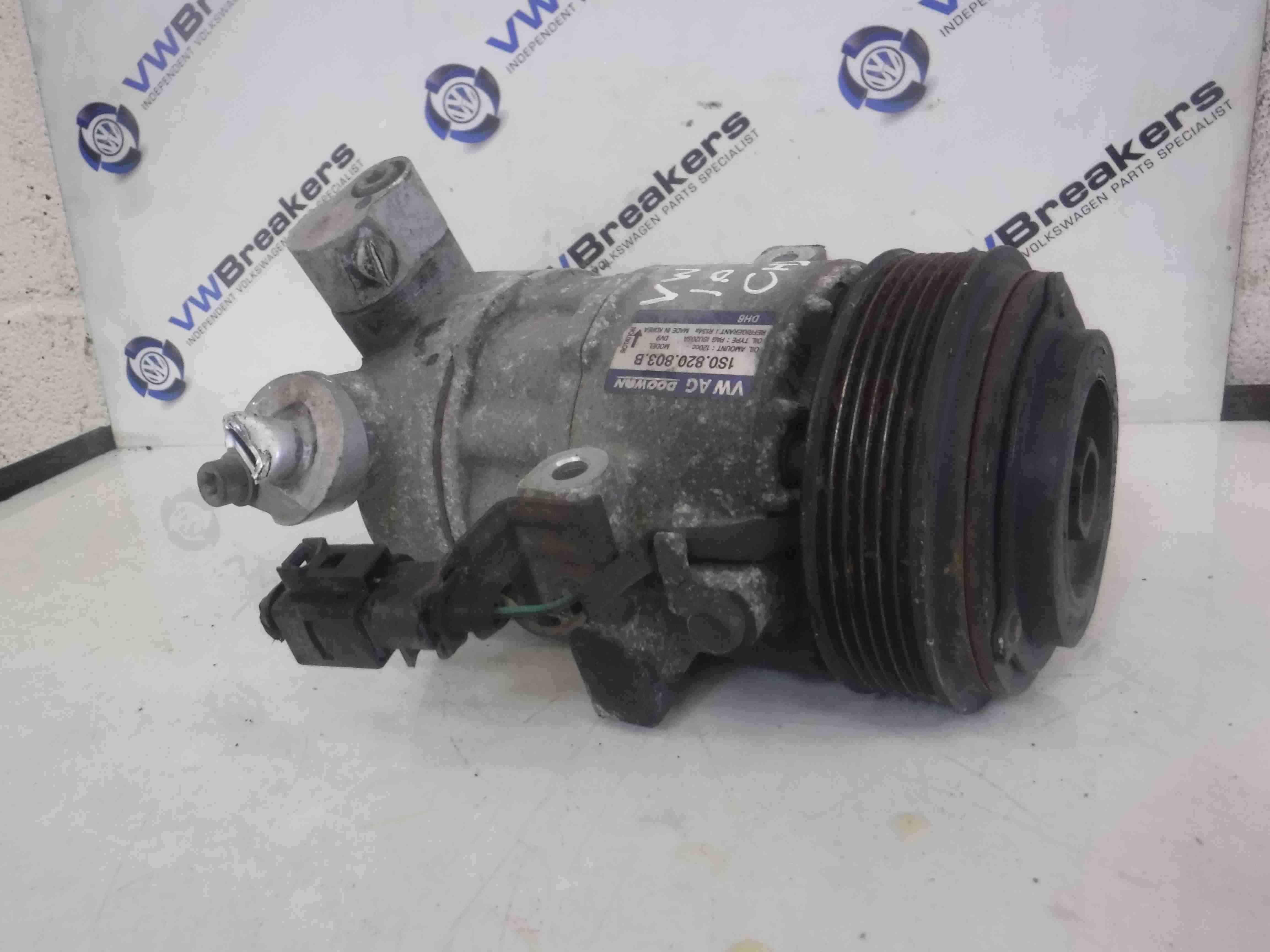 Volkswagen UP 2011-2017 Aircon Pump Compressor Unit 1S0820803B